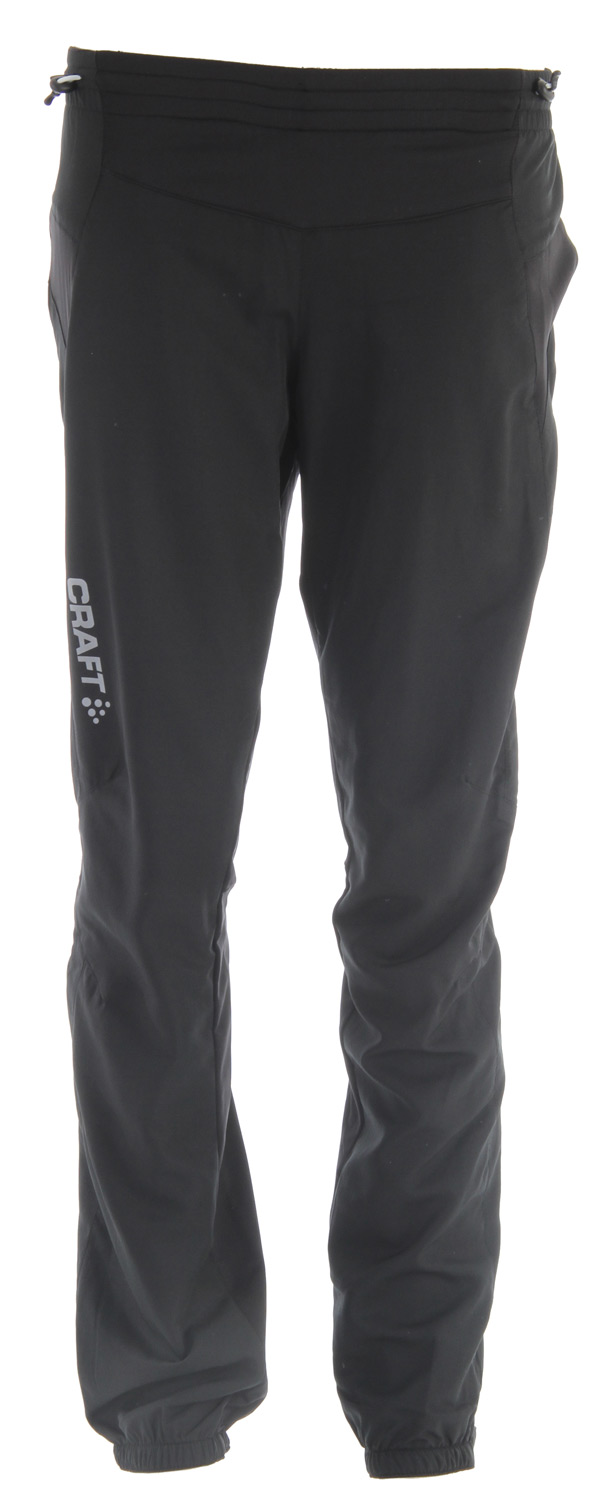 Ski Key Features of the Craft PXC Light Cross Country Ski Pants: Lightweight training pants with wind protective front fabric Thin, ventilating and elastic fabric on back and hip to support the anatomy of the moving body Ergonomically shaped hip and knee to optimize freedom of movement Zipper at bottom side up to knee Reflective tape at bottom One small, hidden, zippered back pocket - $74.95
