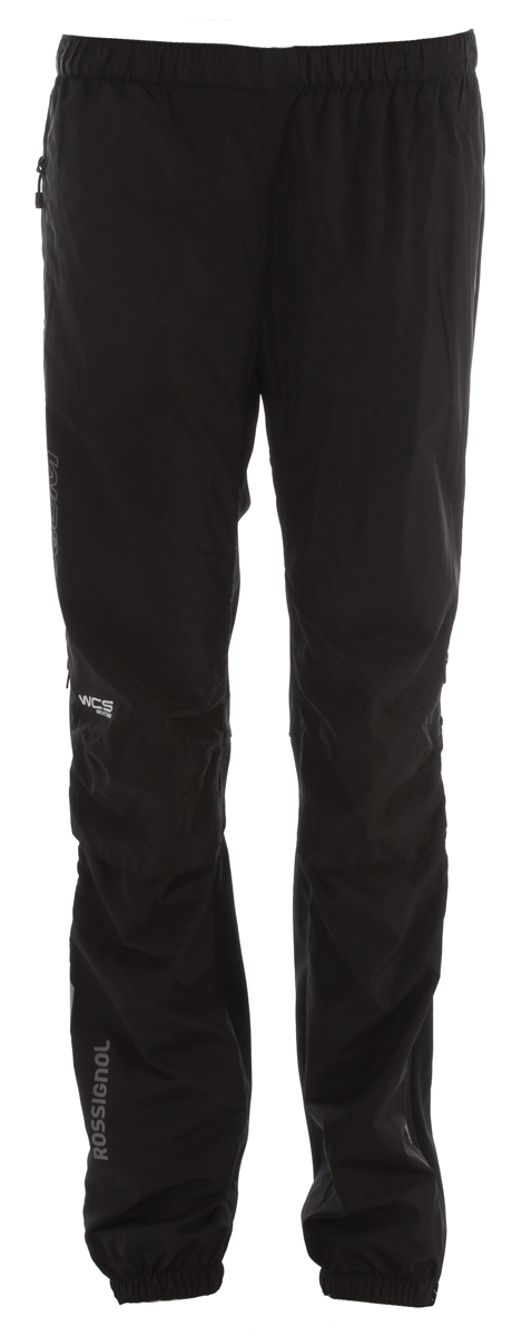Ski Key Features of the Rossignol Xium WCS Cross Country Ski Pants: Weave: R-Wind / R-Dry Content: 100% polyester - 87% polyester / 13% EL Weight: 63g/m - 240g/m Finish: DWR - Windproof Lining: Mesh Venting: on knees Waist: Elastic waist with cord Pocket: Hand pocket Adjustment: 1/2 zip opening and elastic bottom Accessories: Reflective branding - Stretch back - anatomical shape Inseam length: 83cm - 32,67 inches - $90.95