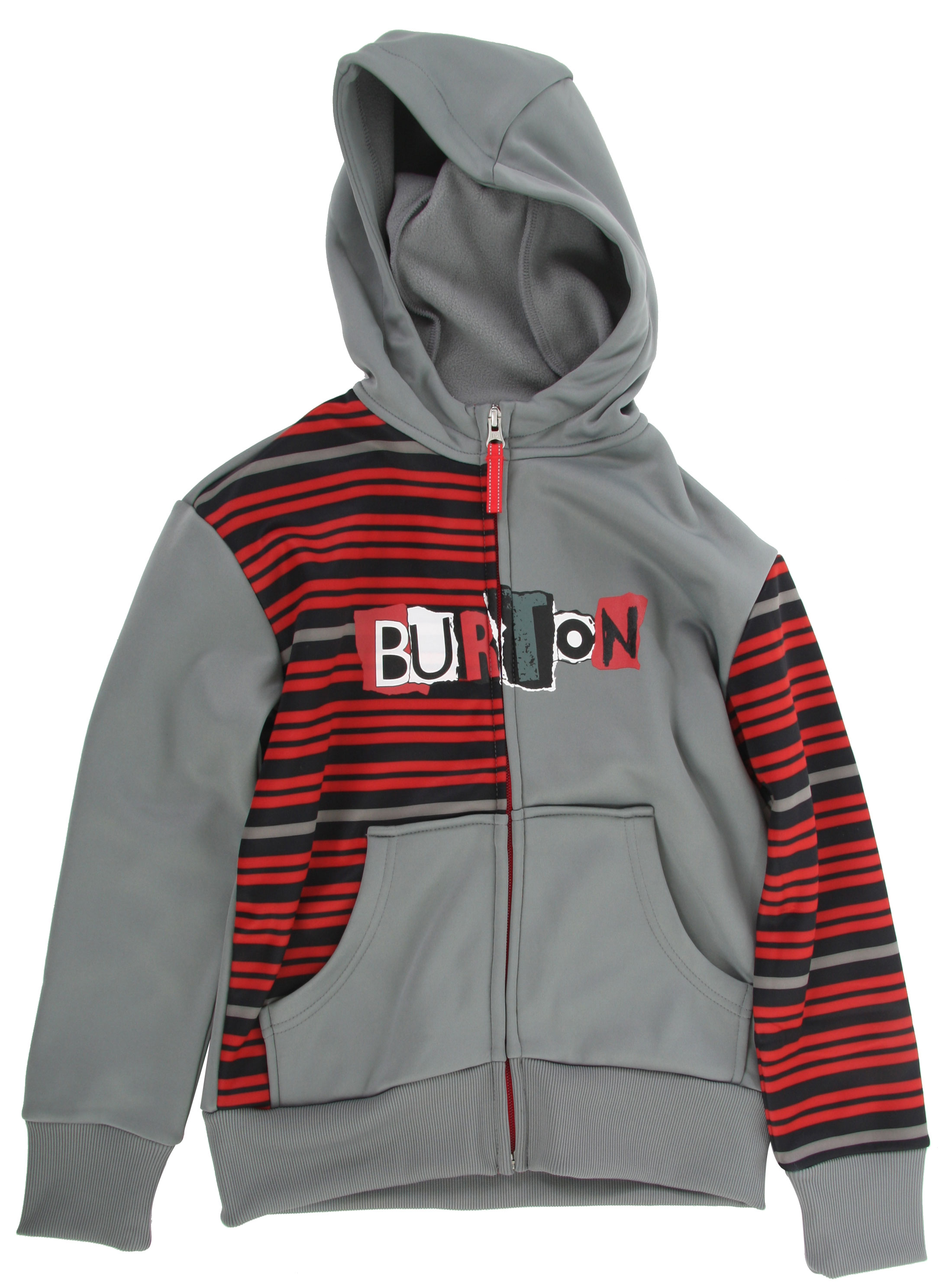 Snowboard Quick-drying warmth and weather protection-the exact opposite of what you get when wearing cotton.Key Features of the Burton Bonded Fleece: DRYRIDE Thermex Bonded, Hard-Surface Fleece Hood with Drawstring Closure Kangaroo Handwarmer Pockets Ribbed Cuffs and Hem - $41.95