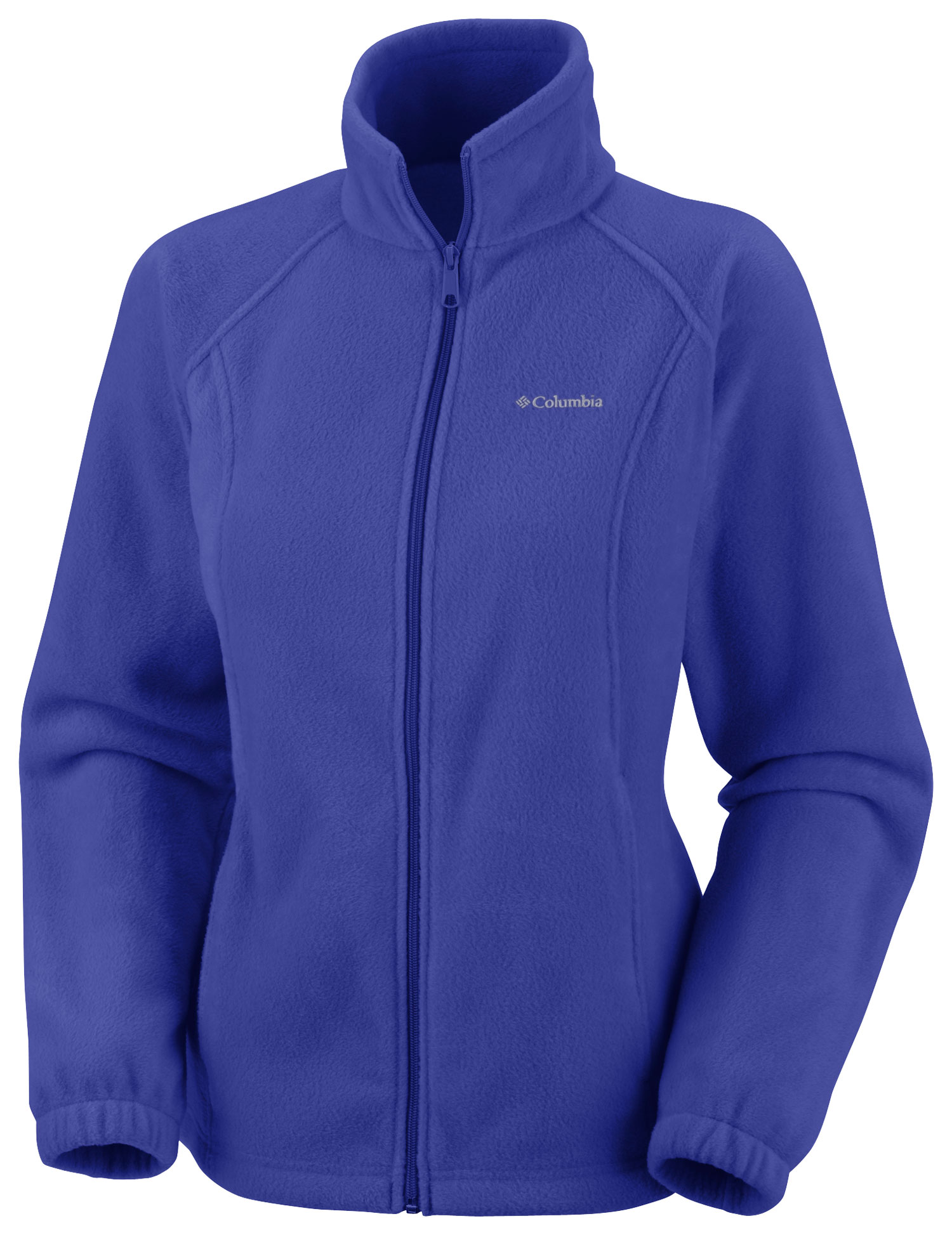 Key Features of the Columbia Benton Springs Full Zip Fleece: FABRIC 100% polyester MTR filament fleece 250g. FIT Modern Classic Interior drawcord Zippered hand pockets - $31.95