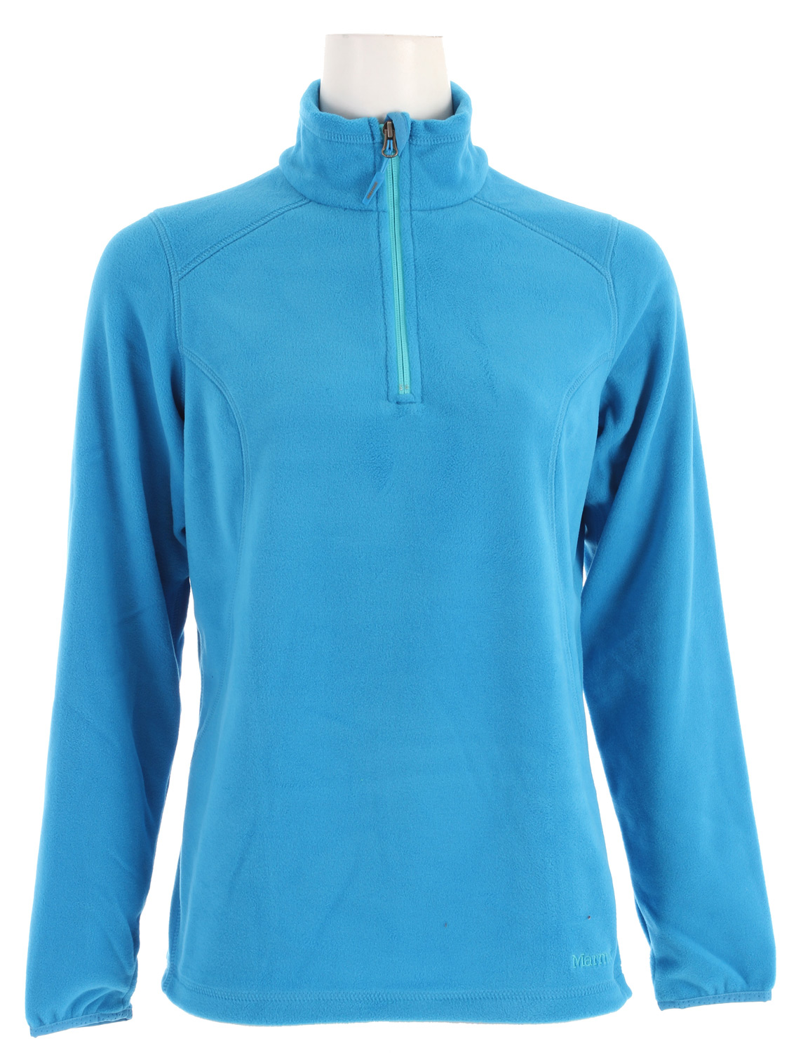 "Key Features of the Marmot Flashpoint Half Zip Fleece: Weight 0lb 7.6oz (215g) Materials PolartecClassic 100 100% Polyester Micro Fleece 4.6 oz/yd Polartec Classic 100 Micro Flat Lock Construction 8 1/2"" Center Front Zip Lycra Bound Cuffs with Integrated Thumb Holes 26"" Center Back Length for Size Medium - $55.95"