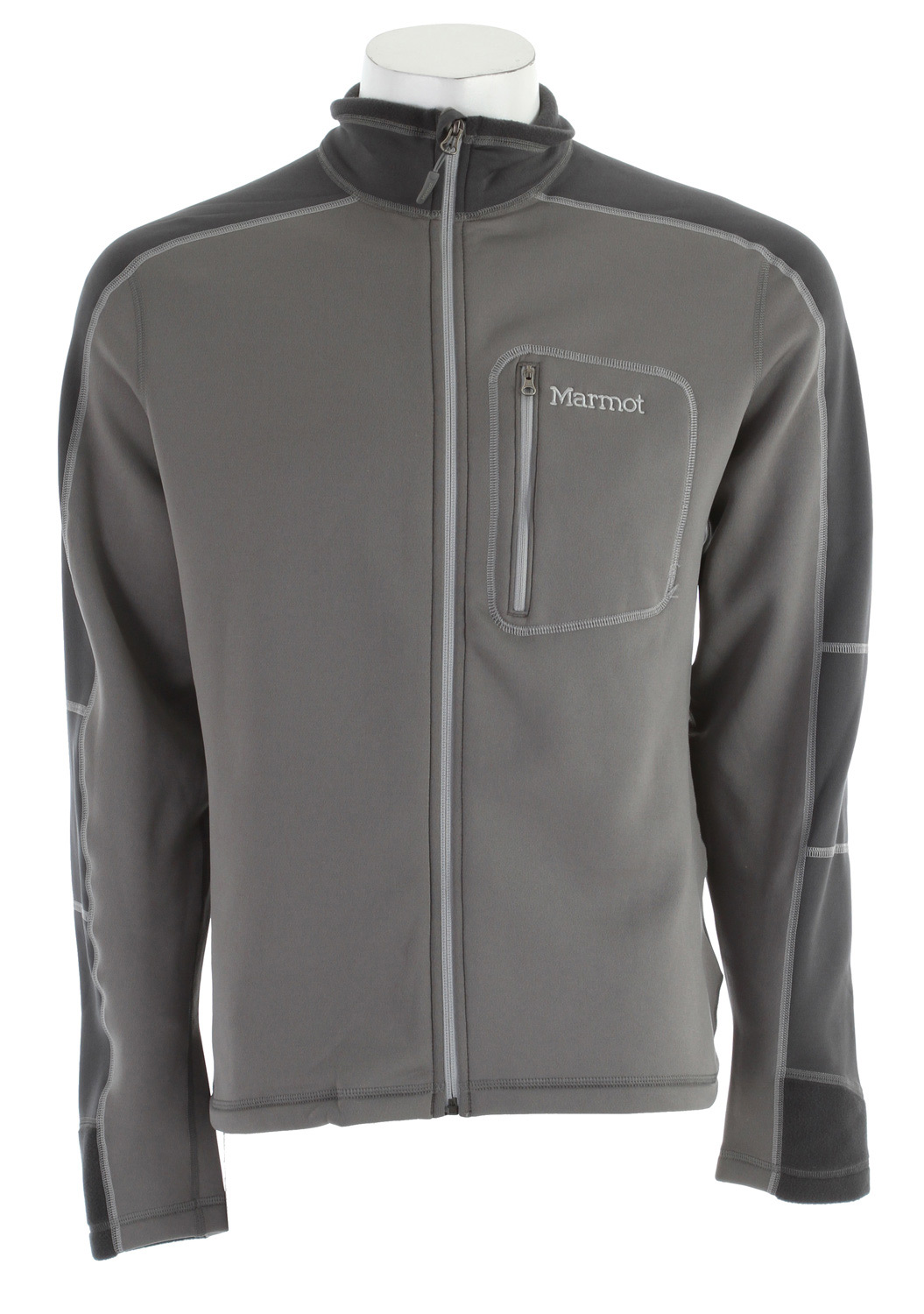 Marmot Power Stretch Fleece Gargoyle/Slate Grey - $81.95