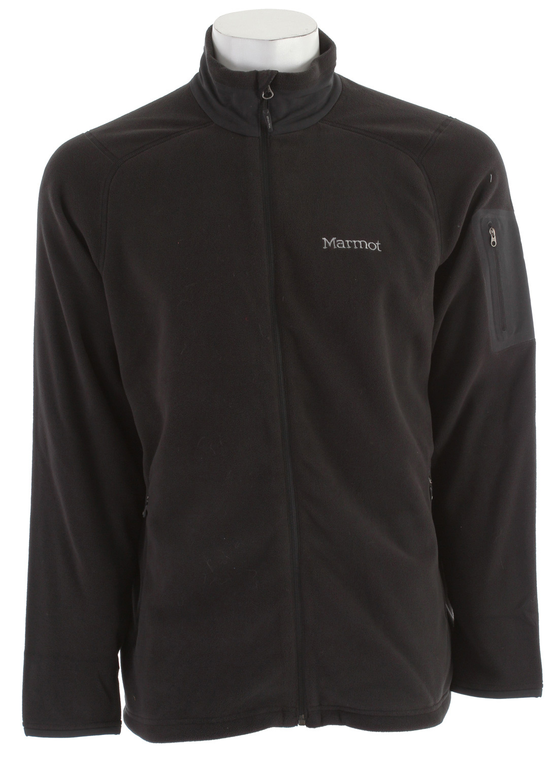 "The Reactor Half Zip is a clean, effective 100 wt. micro-fleece pullover that takes the nip out of chill weather or low thermostats. Polartec(R) Classic fabrics set the bar for lightweight warmth and breathability.Key Features of the Marmot Reactor Fleece: Weight 0lb 12.7oz (360g) Materials PolartecClassic 100 100% Polyester Micro Fleece 4.6 oz/yd Polartec Classic 100 Micro Flat Lock Construction Zippered Handwarmer Pockets Bonded Zippered Sleeve Pocket Wind Flap Behind Front Zipper with Chin Guard Elastic Draw Cord Hem 27 3/4"" Center Back Length for Size Medium - $95.00"