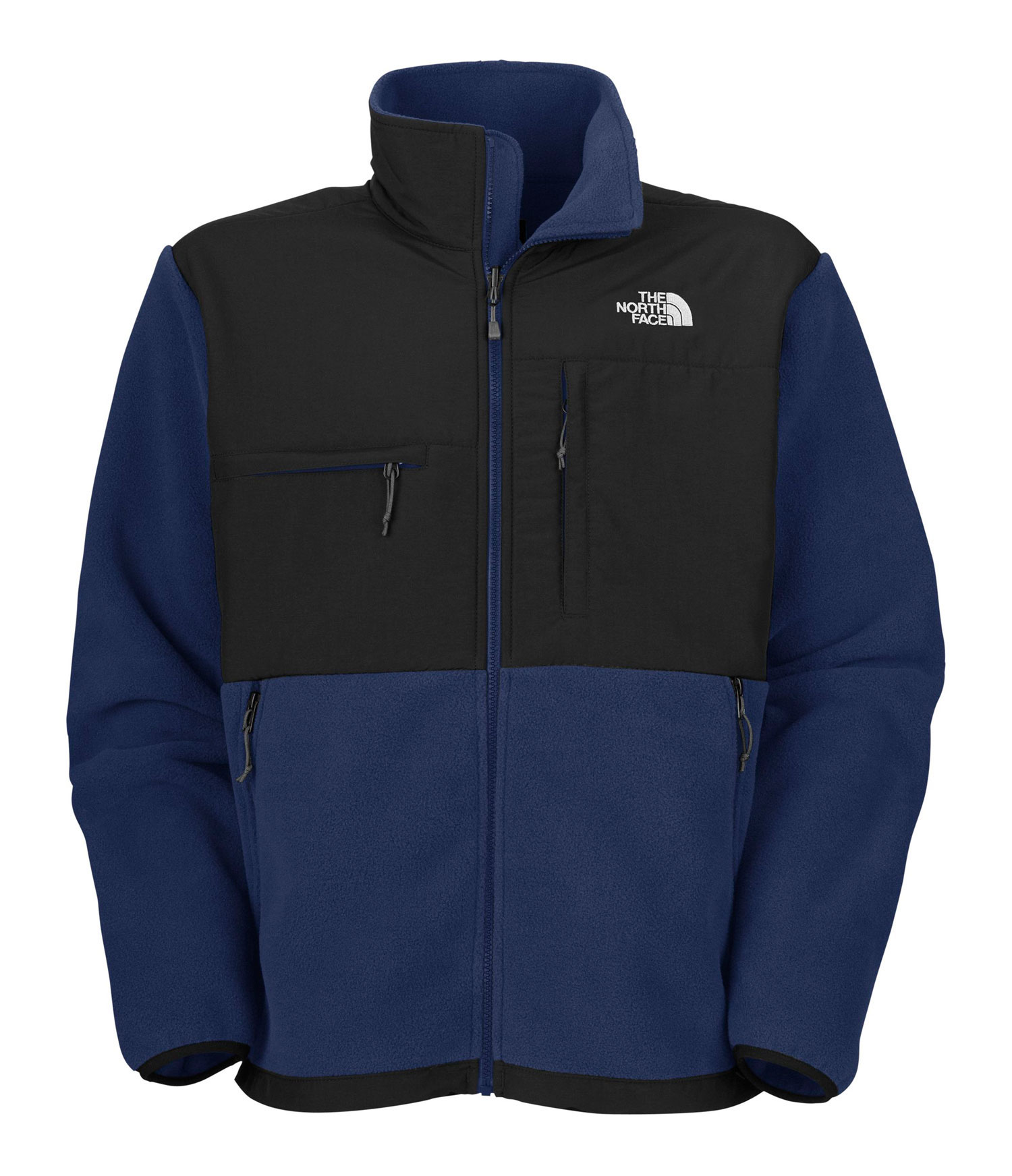 "A 100% windproof fleece gives this already comfortable and durable jacket ultimate protection from winter weather. Key Features of The North Face Denali Fleece: Avg Weight: 842 g (29.7 oz) Center Back: 28"" Fabric: body: recycled Polartec 300 Series fleece with DWR (bluesign approved fabric) abrasion: laundered two-ply nylon (bluesign approved fabric) Standard fit Zip-in compatible Abrasion-reinforced shoulders and elbows Napoleon chest pocket Horizontal chest pocket Two hand pockets Elastic- bound cuffs Pit-zip vents Hem cinch-cord Fixed hood *3XL TNF Black and R Charcoal Grey Heather only - $123.95"
