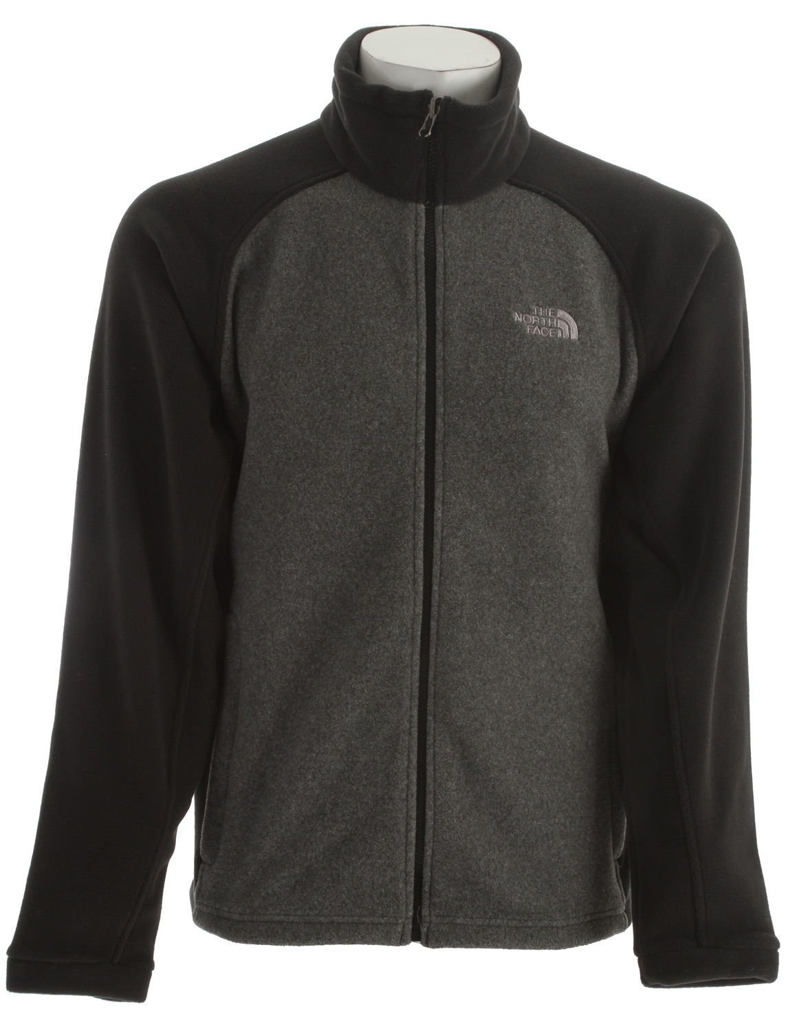 Highly versatile, relaxed-fit jacket offers dependable protection from the coldKey Features of the The North Face Khumbu Jacket: Zip-in compatible integration with complementing garments from The North Face Extremely durable, anti-pill surface Two hand pockets Full-front zip with windflap Hem cinch-cord - $67.95