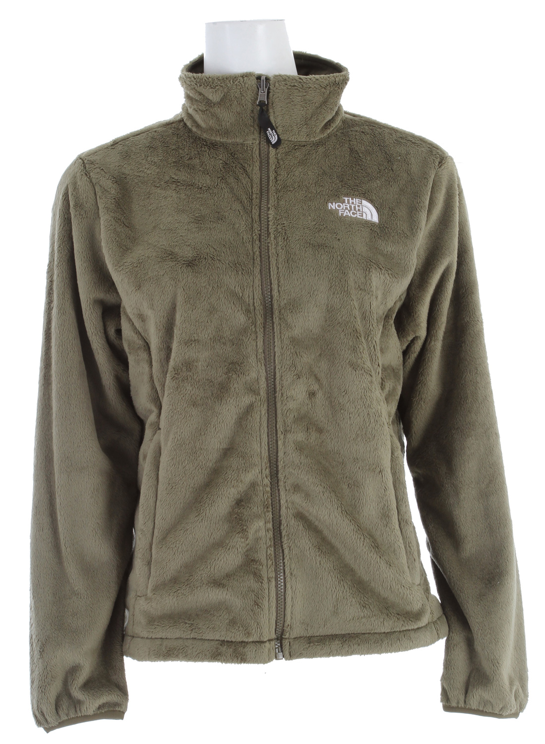 Durable and comfortable high loft zip-up fleece.Key Features of The North Face Osito Jacket: Standard fit Zip-in compatible Brushed collar lining Two hand pockets Concealable cuff snap-in Triclimate attachment Elastic-bound cuffs Hem cinch-cord / fabric/Silken fleece - $84.95