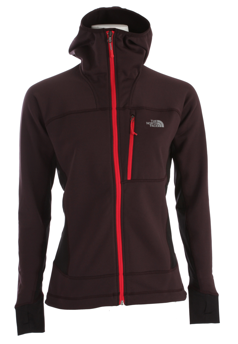"A technical, stretch-fleece mid-layer built for alpine pursuits in the worst conditions. Featuring The North Face FlashDry technology that dramatically improves dry time and breathability.Key Features of the The North Face Radish Mid Layer Fleece: Avg Weight: 13 oz (370 g) Center Back: 25"" Fabric: 92% polyester with FlashDry fiber, 8% elastane hardface jersey, 240 g/m² (8 oz/yd²) Pontetorto hard-face stretch fleece has a micro check brushed interior FlashDry technology dramatically decreases drying time Reinforced shoulder and hip zones protect fabric from pack abrasion Flat-locked seam construction eliminates hot spots when layering Fitted hood follows head swivel for unobstructed view - $149.95"