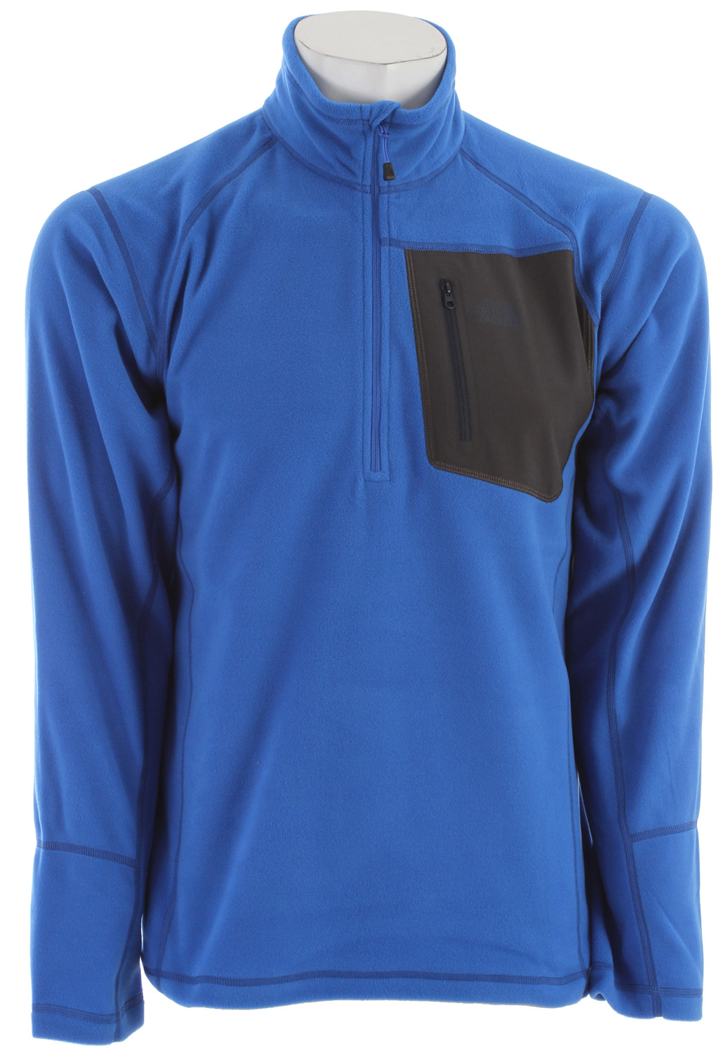 "A breathable, quick-drying midweight zip-neck constructed with Polartec fleece ideal for layering. Key Features of The North Face Tka 100 Trinity Alps 1/4 Zip Jacket: Fabric: 160 g/m (4.64 oz/yd ) 100% polyester Center Back: 27.5"" Midweight layering piece Ultraviolet Protection Factor (UPF) Secure Napoleon zip pocket Flat-locked stitching for strength and reduced abrasion Reverse-coil zips for finished look - $44.95"