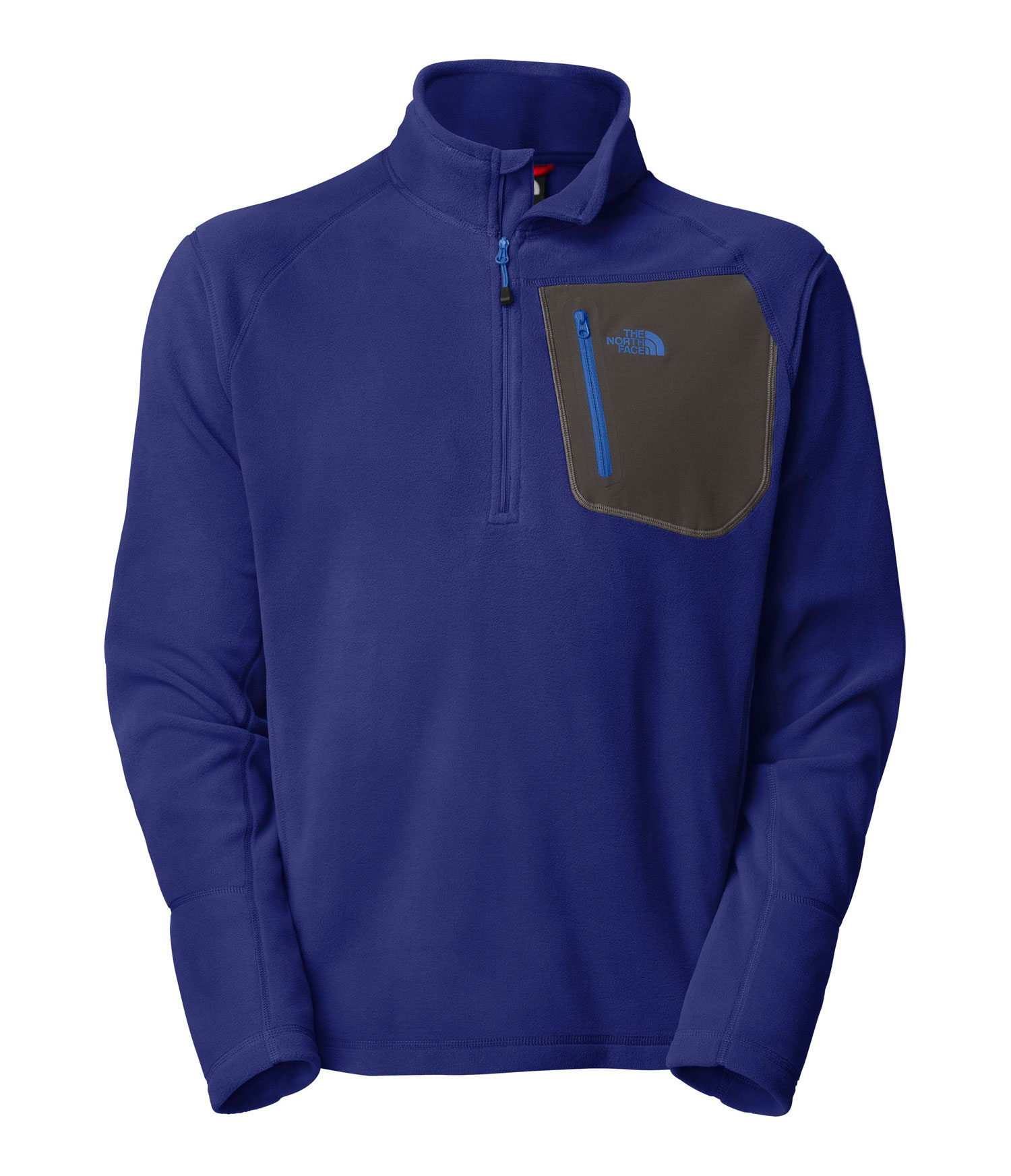 "A breathable, quick-drying midweight zip-neck constructed with Polartec fleece ideal for layering. Key Features of The North Face Tka 100 Trinity Alps 1/4 Zip Jacket: Fabric: 160 g/m (4.64 oz/yd ) 100% polyester Center Back: 27.5"" Midweight layering piece Ultraviolet Protection Factor (UPF) ??? Secure Napoleon zip pocket Flat-locked stitching for strength and reduced abrasion Reverse-coil zips for finished look - $44.95"
