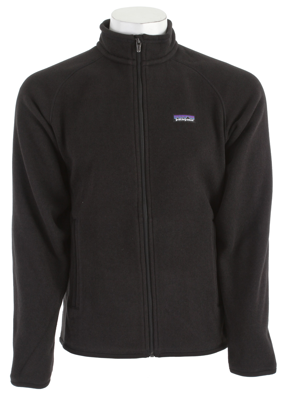 A soft, full-zip polyester fleece jacket with a sweater-knit face and warm fleece interior.* Fabric: 9.5-oz 100% polyester with a sweater-knit exterior and fleece interior * Fabric has a sweater-knit face, fleece interior and heathered yarns * Full-zip jacket with zip-through, stand-up collar and zipper garage * Raglan sleeves for pack-wearing comfort * Two zippered handwarmer pockets * Micropolyester jersey trim on cuffs, hem and back of neck * Can be worn with layers as outerwear or as a midlayer under a shell * Hip length - $92.95