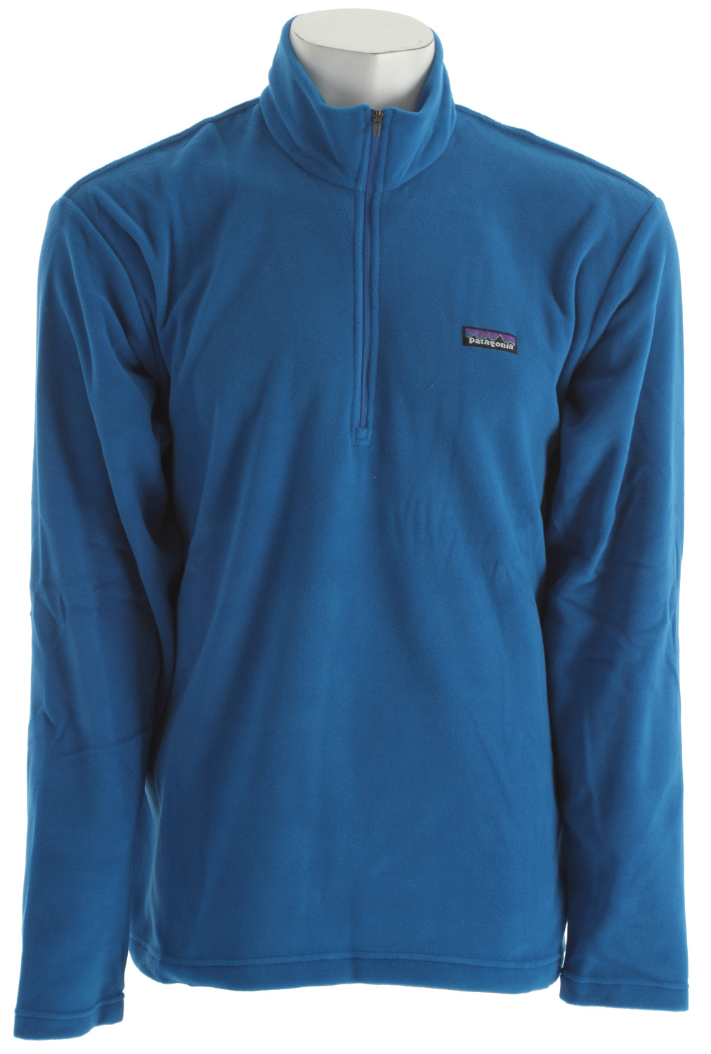 A lightweight, warm and fast-drying 1/4-zip microfleece that works as either a midlayer or shirt. This garment has a Regular Fit A day-in-day-out pullover of notable durability and habit-forming softness, the Micro D 1/4-Zip is made from low-profile, lightweight 4.7-oz polyester fabric that wicks moisture, layers easily and has a deep, quarter-front zip to vent unwanted heat. With stand-up collar and a clean finish on hem and cuffs. Hip length.Key Features of the Patagonia Micro D 1/4 Zip Fleece: Ultrasoft, quick-drying polyester microfleece 1/4-zip pullover with zip-through, stand-up collar Clean-finish on hem and cuffs Hip length 4.7-oz 100% polyester (85% recycled) microfleece 238 g (8.4 oz) Made in Vietnam. Recycled Polyester: We recycle used soda bottles, unusable second quality fabrics and worn out garments into polyester fibers to produce many of our clothes. At Patagonia we seek to build the best product and cause no unnecessary harm. That's our mission statement, and it takes many forms. As it applies to making products, we work hard to source materials and use processes that are less harmful to the Earth without compromising quality. Because to us, quality is not only how well a product performs and holds up, but also how it's made. - $59.00