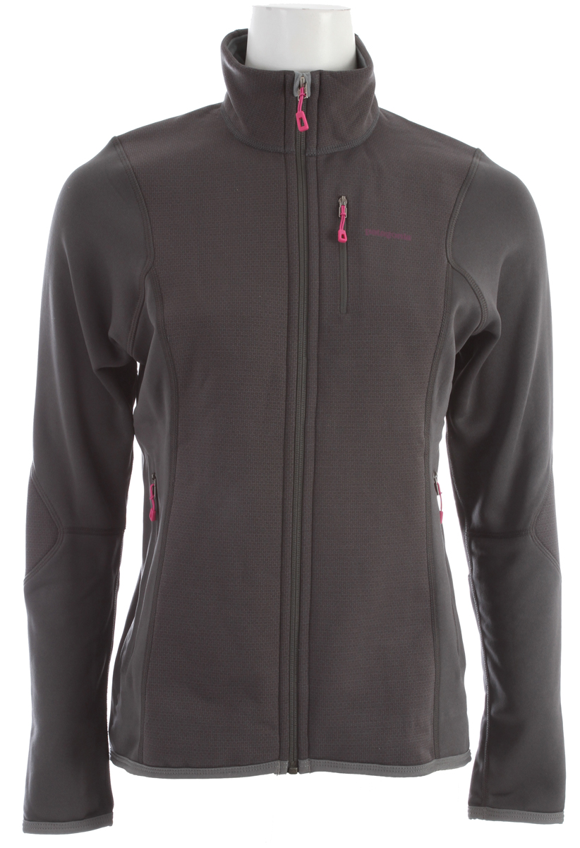 Our most durable, wind-resistant fleece jacket is made of Polartec Wind Pro fabric with Hardface Technology, and excels as an underlayer or outer layer on long alpine climbs. fabric: Front panels: 7.9-oz Polartec Wind Pro 90% polyester (50% recycled)/10% spandex with Hardface Technology and Deluge DWR (durable water repellent) finish. Back and side panels: 5.9-oz Polartec Power Dry 94% polyester (54% recycled)/6% spandexKey Features of the Patagonia Piton Hybrid Jacket: Slim fit Polartec Wind Pro with Hardface Technology and a DWR finish protects your front torso and elbows from wind, moisture and abrasion Polartec Power Dry fabric provides superior stretch, warmth and moisture management in the main body; durable, smooth jersey face slides easily beneath layers Warm brushed-fleece interior moves moisture quickly to the fabric face Microfleece-lined collar, chin guard, cuffs and hem One zippered chest pocket and two zippered handwarmer pockets are pack- and harness-compatible No shoulder seams for pack-wearing comfort - $119.95