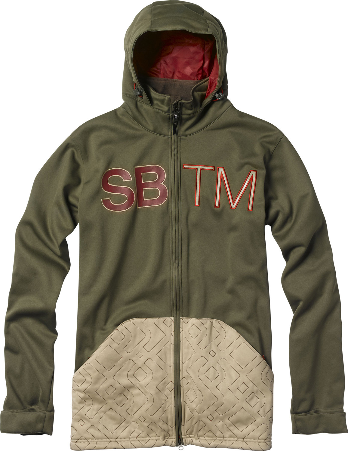 Key Features of the Special Blend Double Team Windbreaker: Bonded Fleece Jacket Wind-Resistant with DWR Coating SB Quilted Logo Kangaroo Pocket Brushed Tricot Lined Hand-Warmer Pockets Interior Stash Pocket Longer Jacket Fit - $74.95