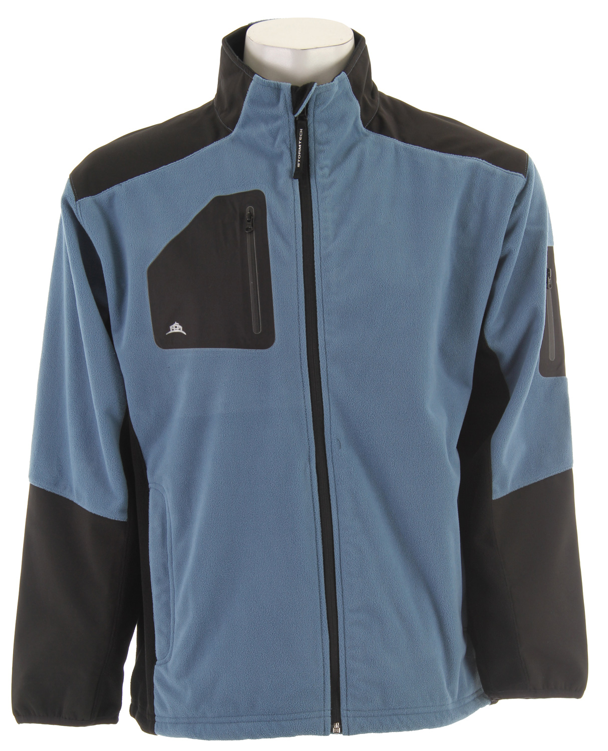 For a more technical look and feel, the Denali Performance Fleece has waterproof panels on the shoulders and arms. The adjustable draw cord at the hem allows you to cinch it, so it stays put while shoveling the late March snow.Key Features for the Stormtech Denali Performance Fleece Jacket: 3,000mm waterproof/3,000g/m2 breathability Adjustable Drawcords at Hem Pocket with Audio Port Zipper Garage at Neck Laser-Cut Bonded Sleeve Pocket - $35.95