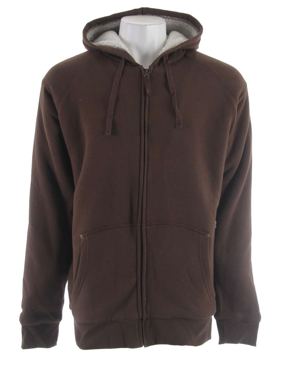 "Sherpa lined hoods have a huge following for good reason. The Heritage Sherpa Lined Fleece Hoody warms you up like a cozy blanket and will be your favorite ""go to"" piece when you don't feel like wearing a jacket.Key Features for the Stormtech Heritage Sherpa Lined Full Zip Fleece: 2x2 Rib-Knit Cuff & Waistband Flat Drawcord Kanga Pocket Full Sherpa Fleece Lining Full-Zip Front with Hood Adjustable Hood - $31.95"