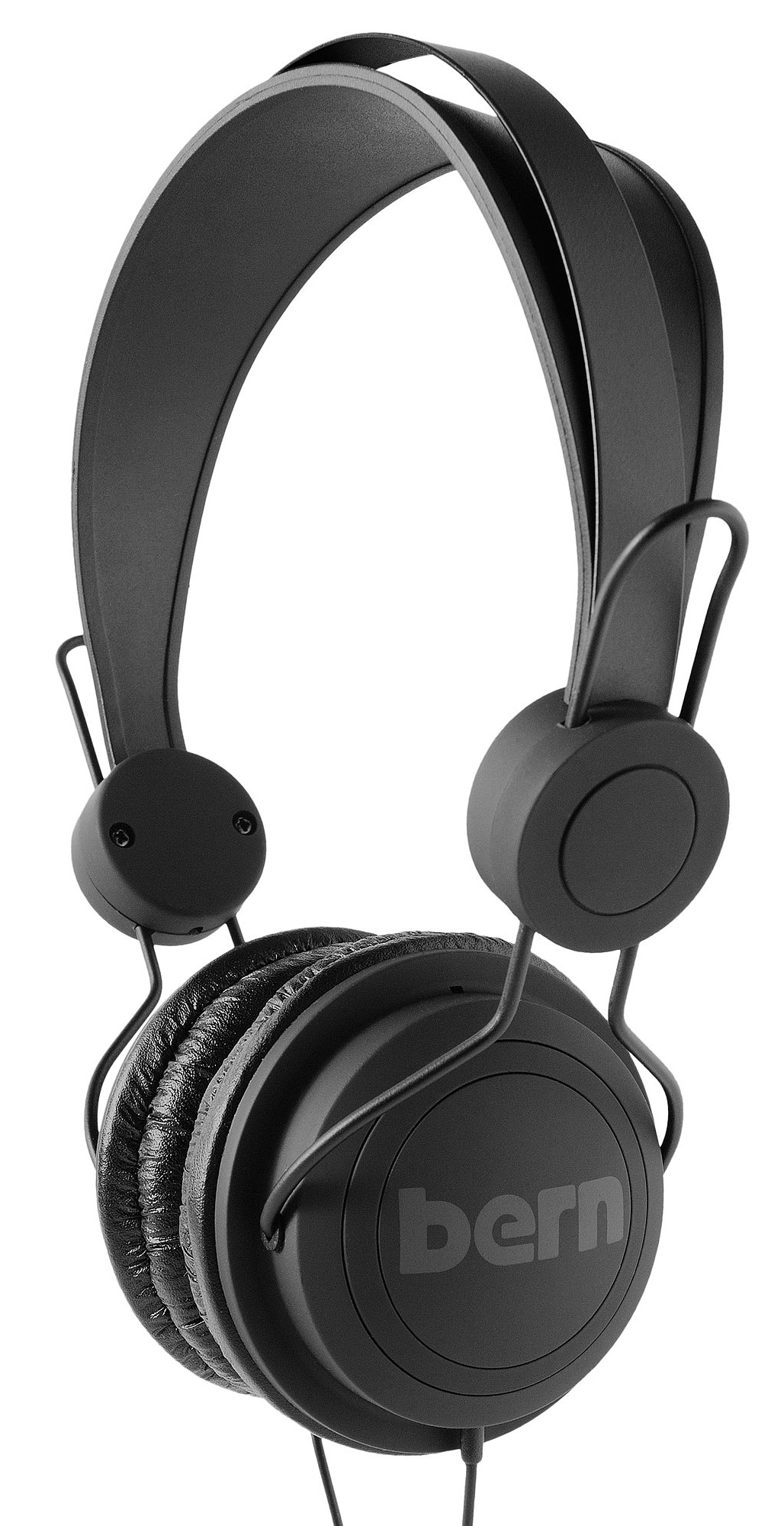 Entertainment Bern Retro Headphones Black - $38.95