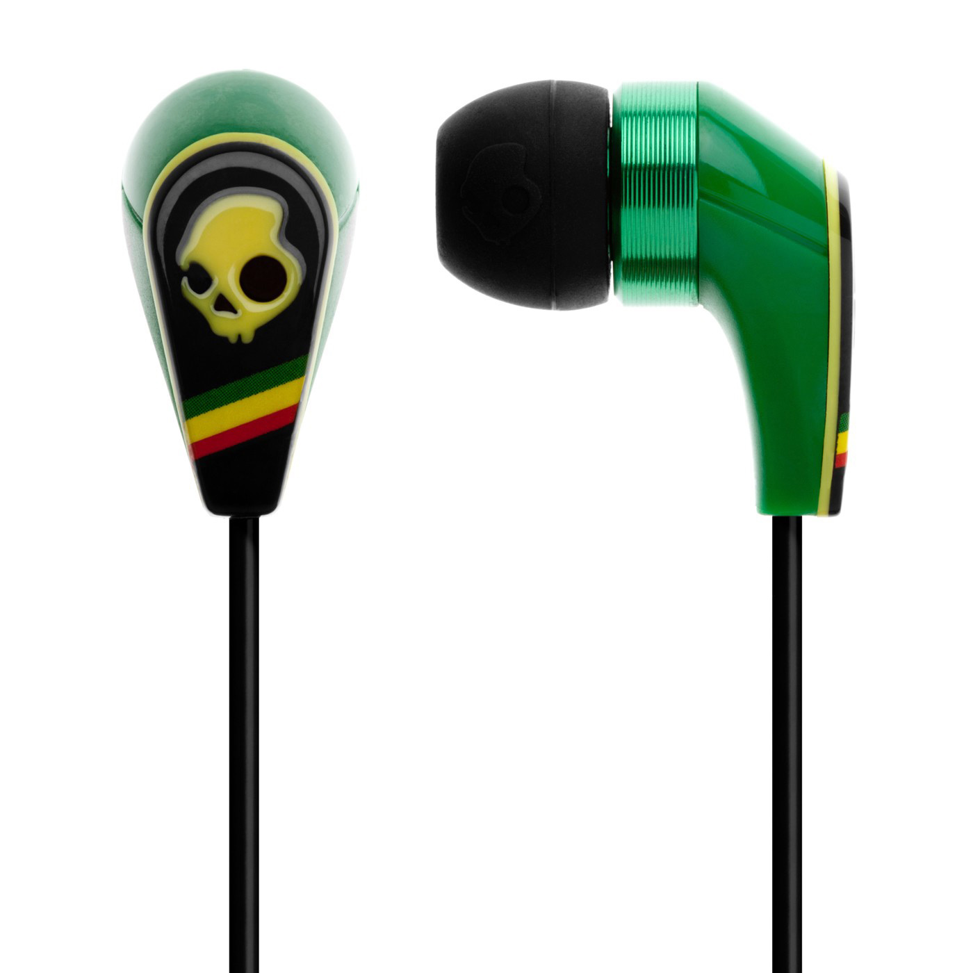 Entertainment Key Features of the Skullcandy 50/50 with Mic 3 Earbuds: In-Line Mic3 11mm Power Drivers Nylon Mesh Carry Case 3 Silicone Gel Sizes Mic3+Control switch+Volume control Play/Pause/Track control Speaker Diameter: 11mm Magnet Type: NdFeB Frequency Response: 20-20k Hz Impedance: 16 ohms Max Input Power: 100mW Cable Type: TPE Cable Length: 1.3M Plug Type: 3.5mm Gold Plated Volume function compatible with: iPhone 4, iPhone 3GS, iPad (1st and 2nd Generation), iPod Touch (2nd, 3rd, and 4th Generation), iPod Classic (2009), iPod Nano (4th, 5th, and 6th Generation), iPod Shuffle (3rd and 4th Generation), and MacBook Pro - $29.95