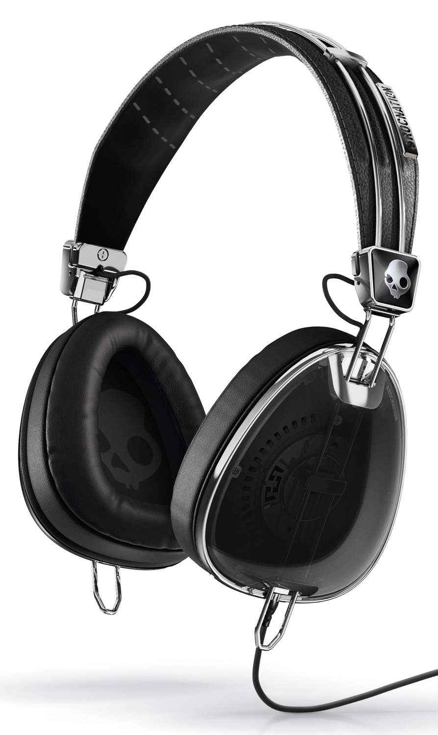 Entertainment Key Features of the Skullcandy Aviator w/ Mic 3 Headphones: Mic3 Volume Control + Take/Make calls + Play/Pause + Track Control + Works with most smart phones Stashable Carrying case Driver: 40mm - $149.99