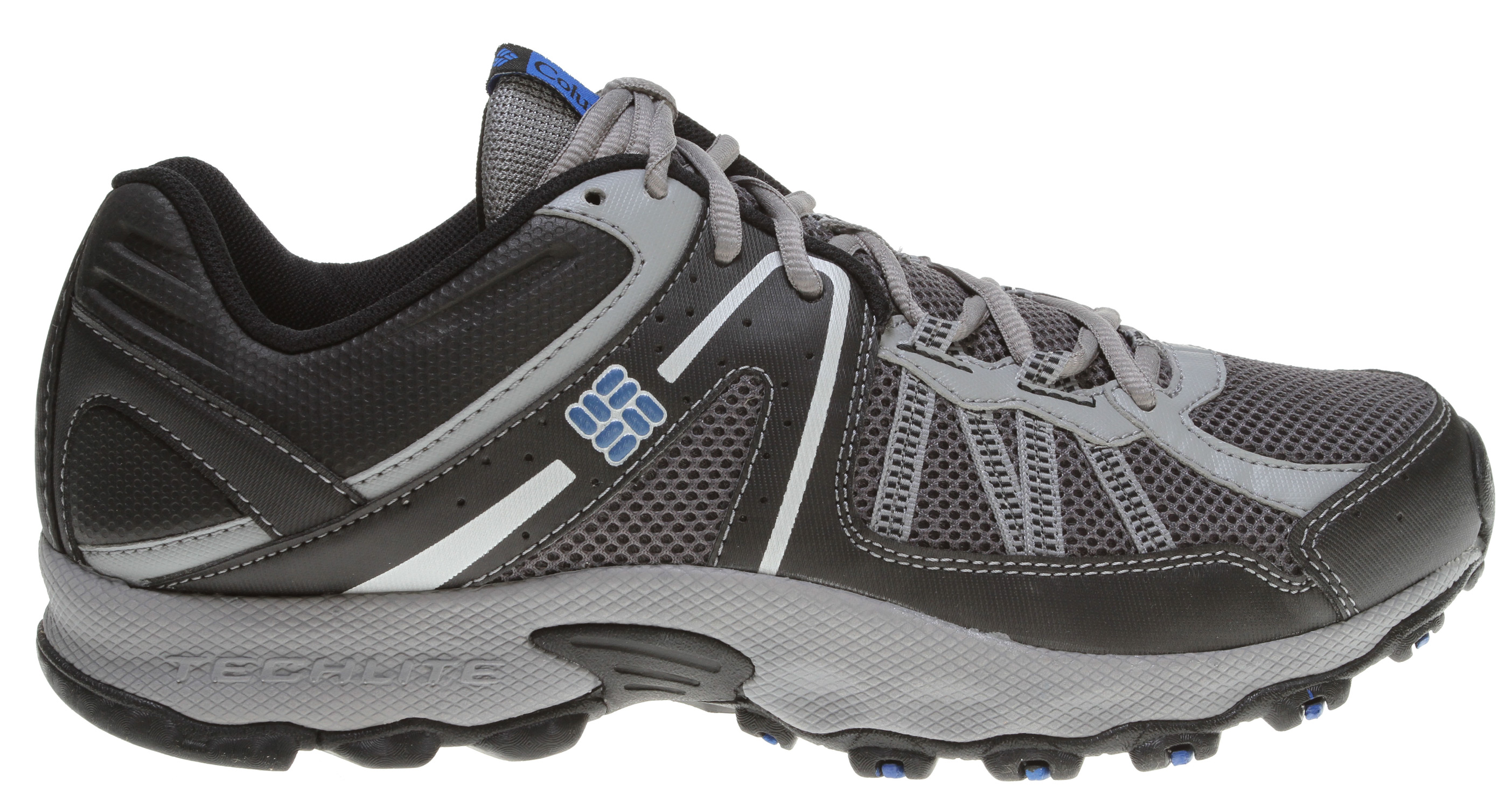 Camp and Hike Designed for the trail runner who needs cushioning and traction in a lightweight package.Key Features of the Columbia Switchback 2 Low Hiking Shoes: UPPER: Synthetic and breathable mesh upper. 3D Techlite Fit piece for comfort, support, and ?t. MIDSOLE: Full length Techlite midsole for cushioning and lightweight ?flexibility. OUTSOLE: Full length Omni-Grip traction with aggressive lug pattern for good traction on adverse terrain. - $51.95