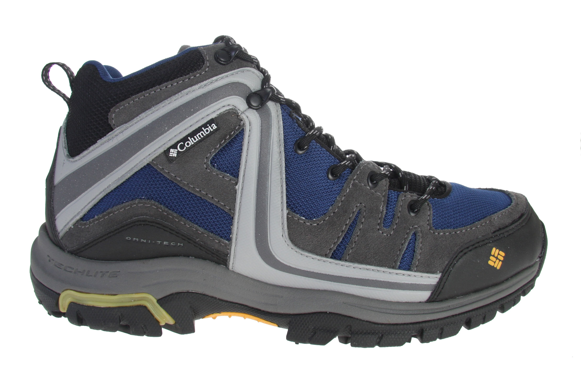 MTB Are you ready to enjoy the outdoors again but don't have the right shoes yet  Well the Columbia Shastalavista mid hiking shoes windsor/treasure will have you well taken care of then. Designed for trail hiking, mountain biking, and even our walkers or joggers these will take you to many different places. The open mesh upper with the leather overlays are designed to keep feet cool, comfortable, and supported while your on the trails. The special reinforced rubber toe and rubber heel protection sure will enhance your durability, especially for those bike riders. Inside the shoe, the footbed pulls moisture away from skin while delivering lightweight cushioning and support. The special omni-grip rubber outsole provides suspension and grips the slippy surfaces your going to running and sliding over. So go outside and enjoy these fancy shoes today!!   Key Features of the Columbia Shastalavista Mid Hiking Shoes: Breathable mesh upper with Nubuck leather and PU-coated overlays Durable mesh collar Removable Contour Comfort 1D footbed with wicking treatment Injection-molded tuned TPU shank Compression-molded Techlite for lightweight cushioning and comfort Non-marking Omni-Grip rubber compound outsole with Kinetic Response Weight: Size 9, 1/2 pair=15.1 oz/429g - $87.95