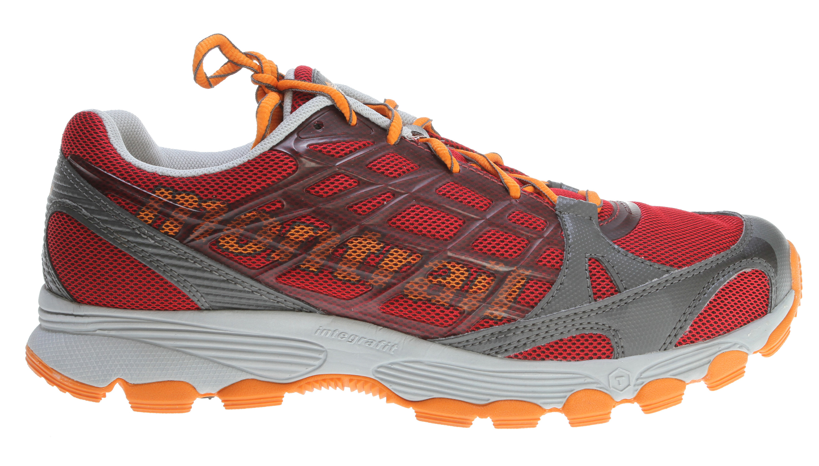 Camp and Hike Outstanding cushioning for a smooth ride over all types of trailsKey Features of the Montrail Rockridge Hiking Shoes: Weight: 11.4 oz / 323 g Durometer: 55 Asker C (+/-3 degrees) Fit Notes: Snug heel with a wider forefoot - $62.95