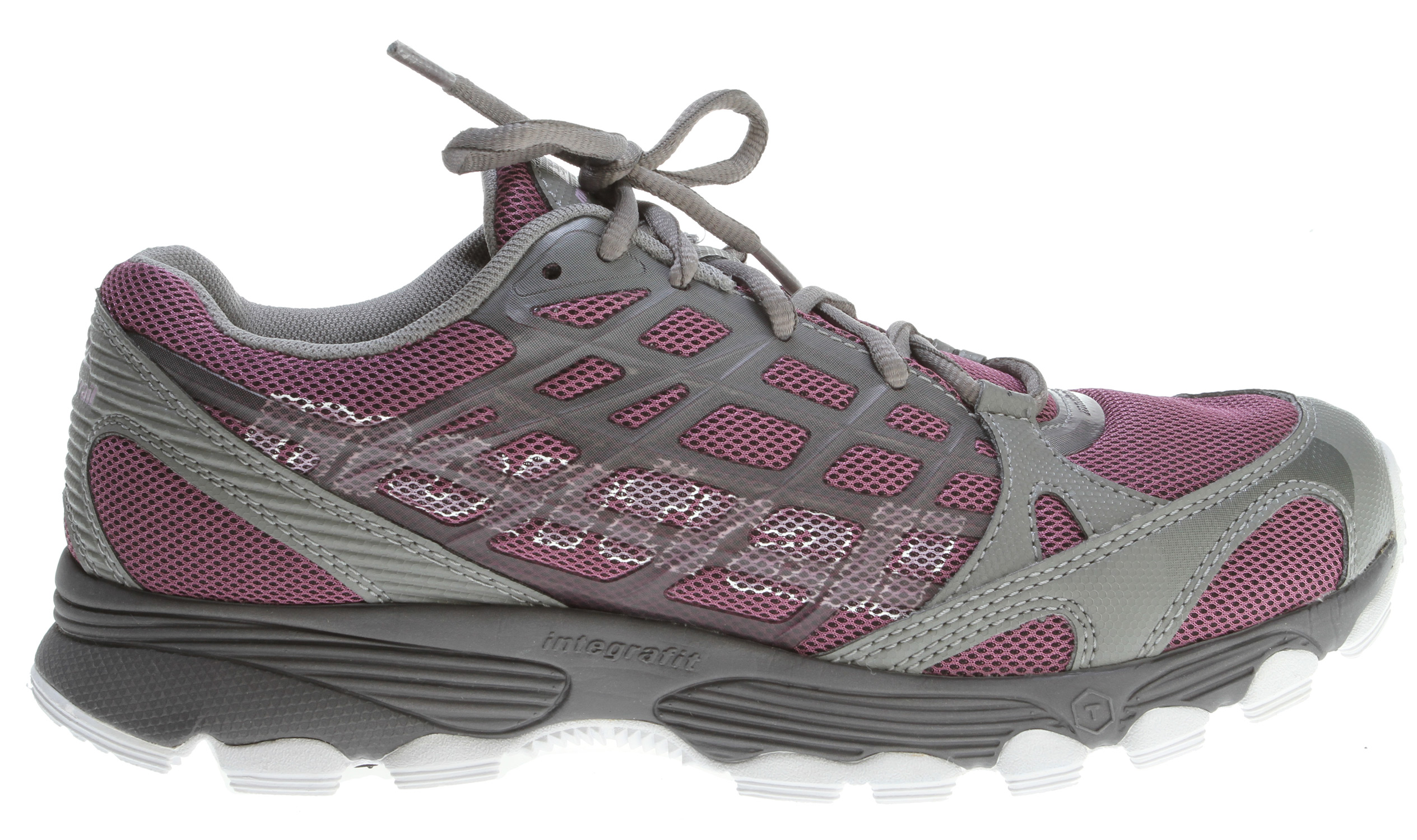 Camp and Hike Outstanding cushioning for a smooth ride over all types of trailsKey Features of the Montrail Rockridge Hiking Shoes: Weight: 9.2 oz / 261 g Durometer: 55 Asker C (+/-3 degrees) Fit Notes: Snug heel with a wider forefoot - $62.95