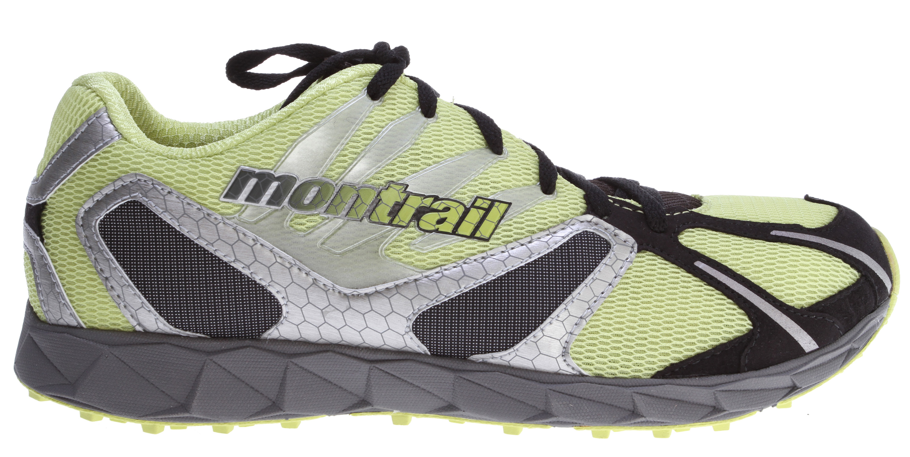 Camp and Hike Ultra-lightweight trail racing flat designed for trail racers who crave minimalism and low profile performanceKey Features of the Montrail Rogue Racer Hiking Shoes: Weight: 8.8 oz / 250 g Durometer: 55 Asker C ( /-3 degrees  Fit Notes: Secure fit - $65.95