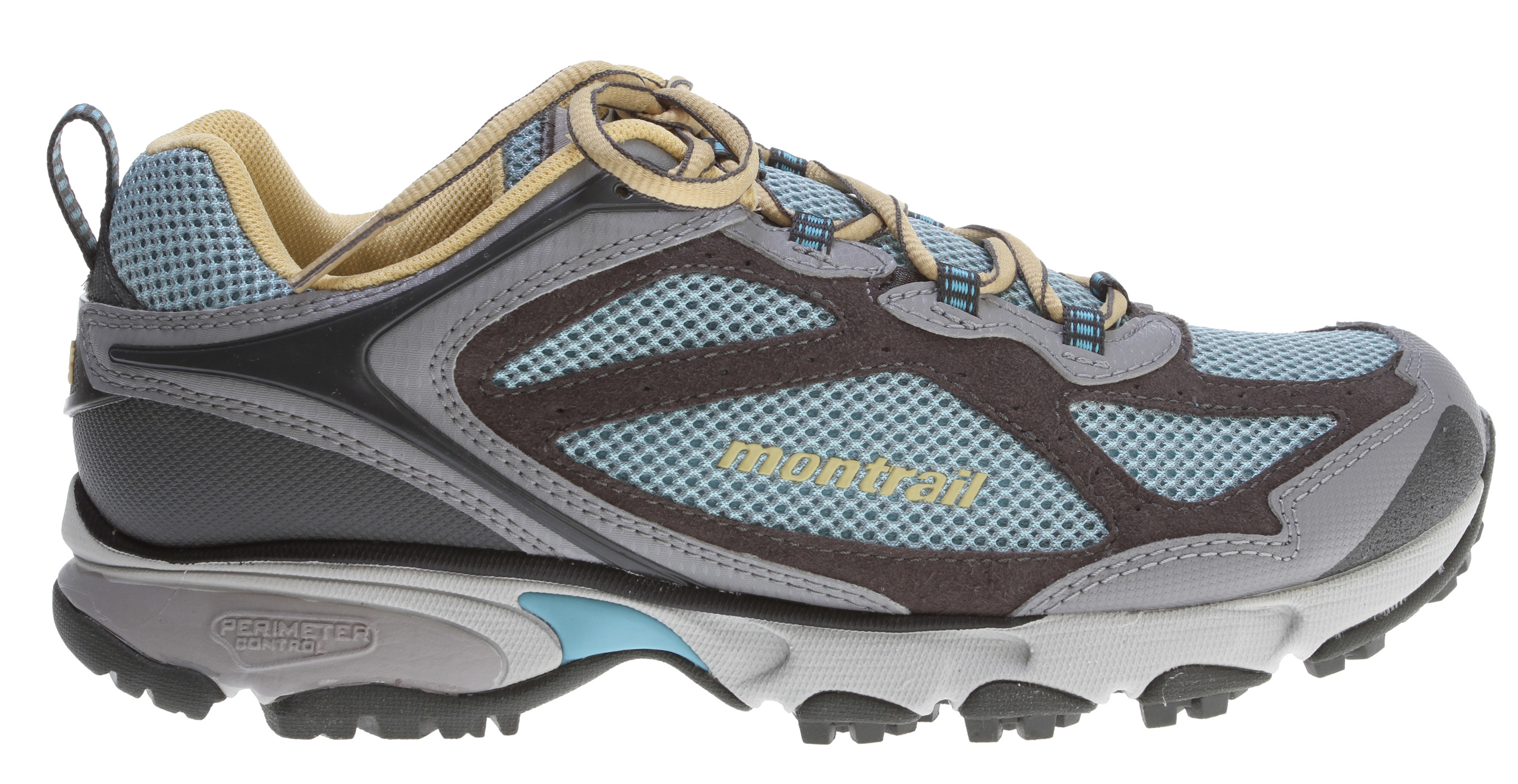 Camp and Hike Performance running shoe built for stability and protection on the trail.Key Features of the Montrail Sabino Trail Hiking Shoes:  Weight: 10.3 oz / 291 g  Durometer: Medial Post 68 Asker C / 58 Asker C ( /-3 degrees   Fit Notes: Wider forefoot - $59.95