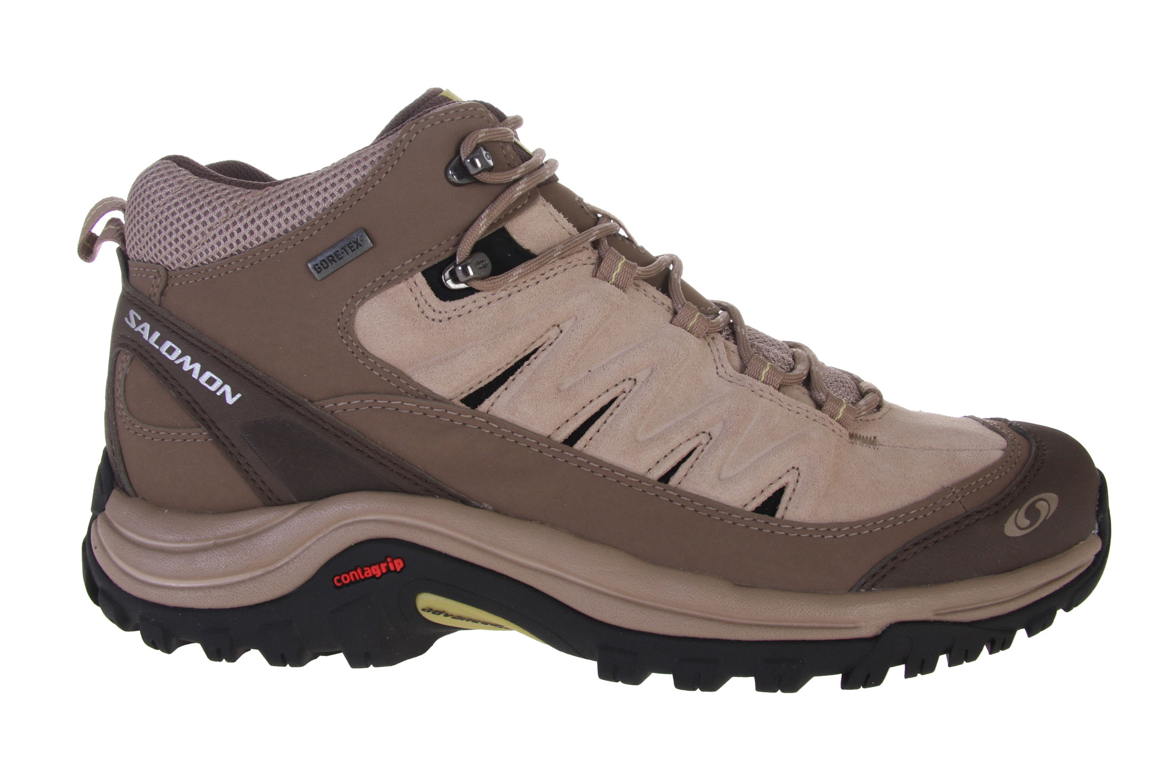 Camp and Hike Supportive, comfortable mid cut hiking shoes with year-round climate versatility of GORE-TEX.Key Features of the Salomon Exit Peak Mid GTX Hiking Shoes: Mud guard GORE-TEX Performance Comfort Footwear 2D Advanced Chassis - $83.95