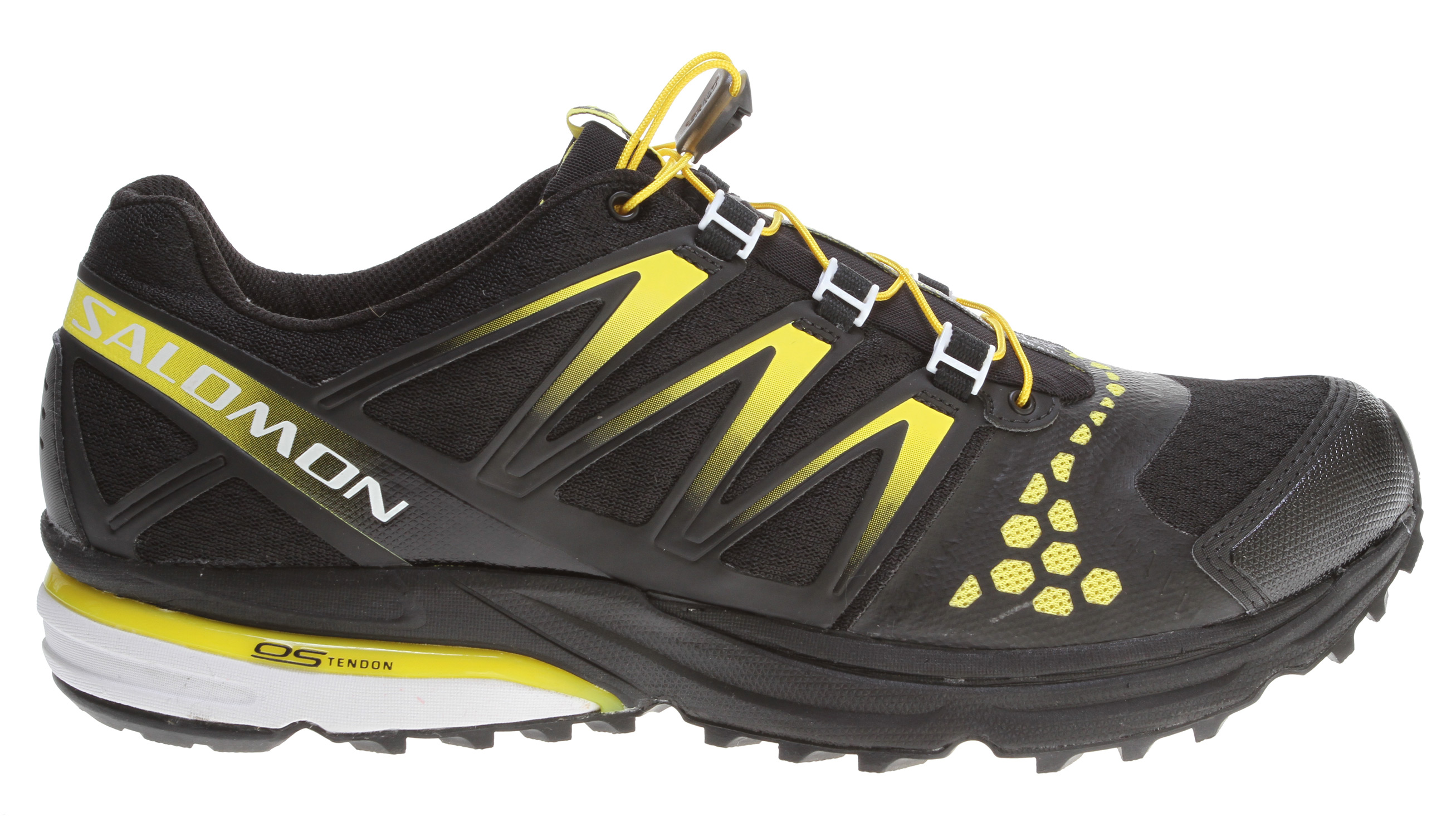 Camp and Hike High mileage training shoe for neutral runners who want one shoe from door to trail.Key Features of the Salomon XR Crossmax Neutral Hiking Shoes:br>WEIGHT 320g / 11.3oz (SIZE US 9) Upper: Friction free lace eyelet Sensifit Lace pocket Guss eted tongue Sensiflex Quicklace Stretch air mesh Lining: lining material: Textile Midsole: TRIPLE DENSITY Molded EVA Outsole: Contagrip LT Contagrip HA OS Tendon Sockliner: OrthoLite - $94.95