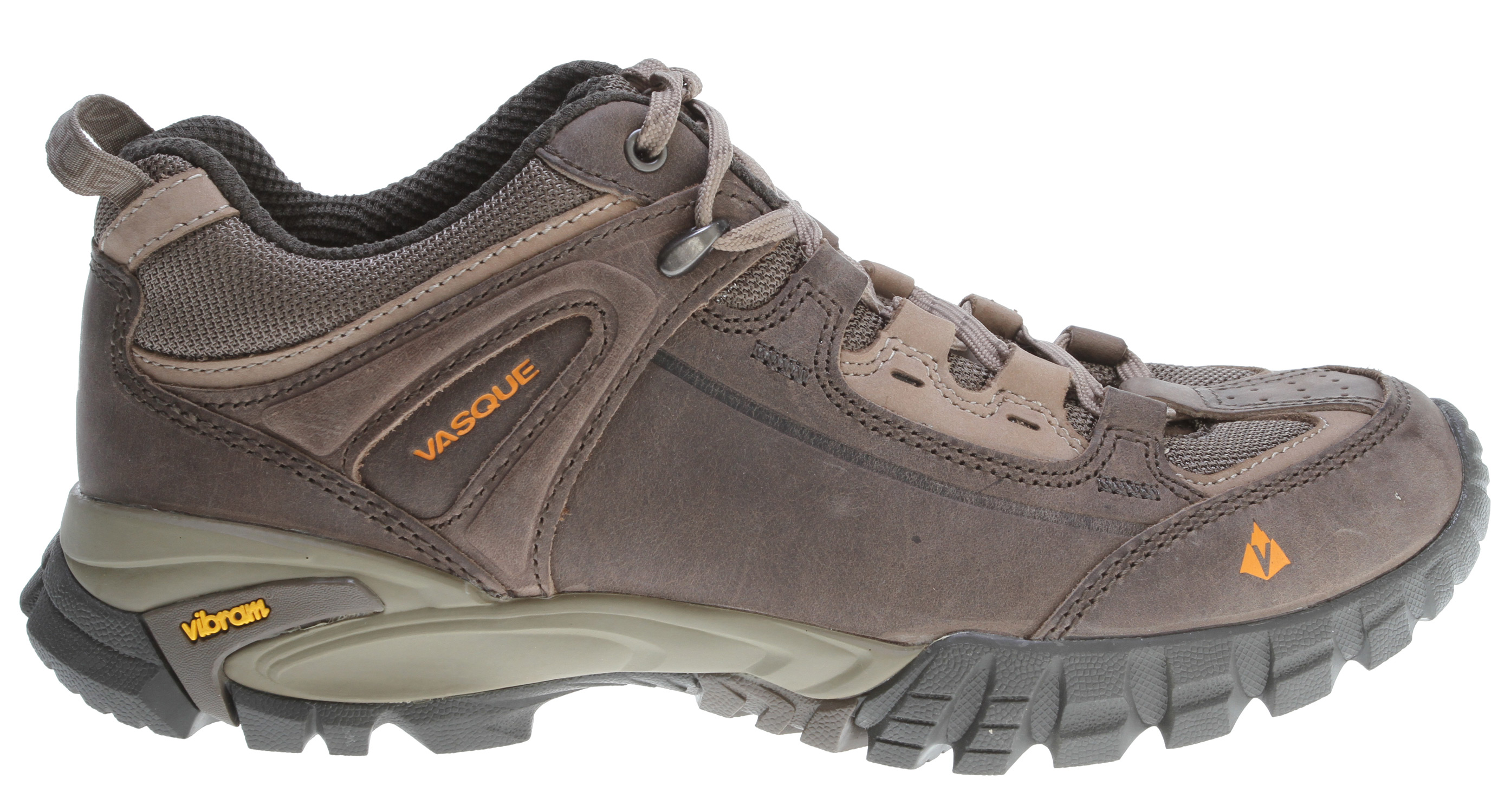 Camp and Hike The Mantra 2.0 is a modern hiking shoe. Form meets function, with stability-providing midsoles, Vibram outsoles, and durable nubuck and mesh uppers. Comes with or without Gore-Tex liner, so it's ready for walks in the park or walks into the wild.Key Features of the Vasque Mantra 2.0 Hiking Shoes: Vibram: Our longest standing partner. Perpetuum Last: As the name suggests, the Perpetuum Last creates a fit for steady, long distance endeavors. Weight: 2lb. 4 oz. (1026g) Outsole: Vibram Nuasi Last: Perpetuum Midsole: Molded PU - $86.95