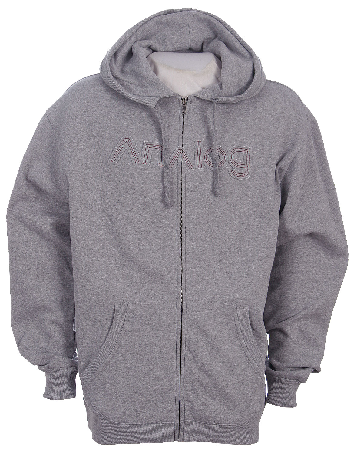 The Analog Epidemic Zip Hoodie Heather is a splendid and warm addition to your wardrobe! The fancy Analog Epidemic Zip Hoodie Heather is 80% cotton and 20% polyester for great protection from the elements. You will find the nice Analog logo on this sweatshirt's back side and the Analog company name on its front. You will also find an Analog logo on the sweatshirt's zipper itself. Analog considers style when fashioning their sportswear ensuring your satisfaction.Key Features of The Analog Epidemic Zip Hoodie: 80% Cotton / 20% Polyester Applique on the Front Chest Screenprint and Applique on Upper Back and Hood Custom Logo Zipper Pull - $26.95