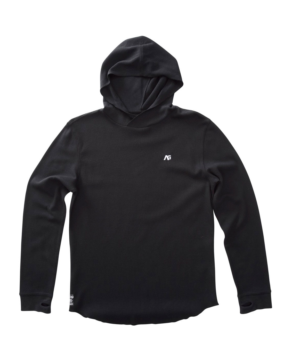 Key Features of the Analog Overlay Hoodie: Cotton/Poly Hooded Thermal With Moisture Wicking And Anti-Bacterial Properties Rib Cuffs With Thumbholes Reg Fit - $32.95