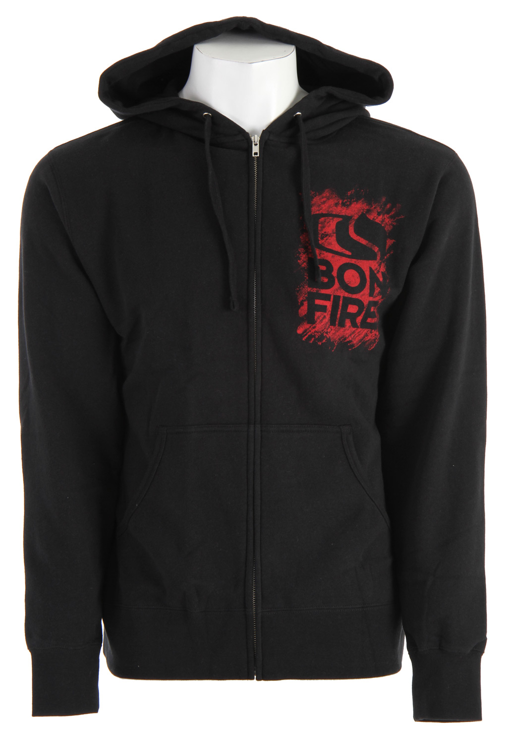 Combed cotton classic, built to burn.Material: Cotton Type: Logo Hood: Yes Zipper: Full Zip Fit: Regular Pockets: 2 Insulation: Midweight Insulation - $32.95