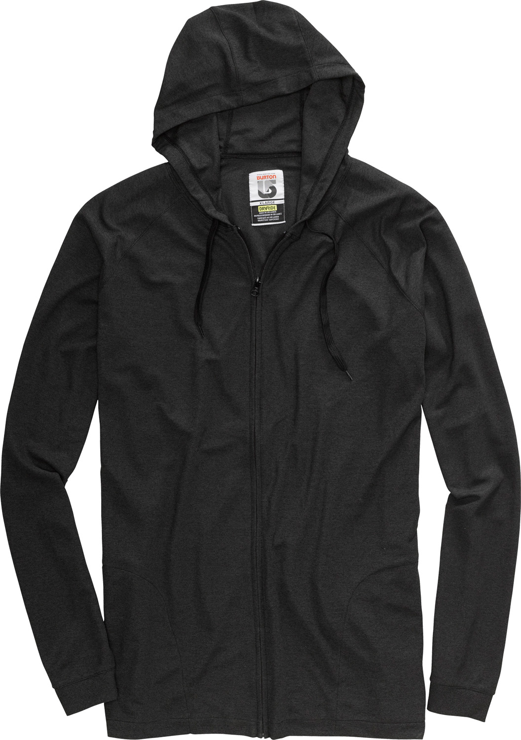 Camp and Hike Mid-winter to summer shred. Lightweight warmth that fits the soak and the stink.Key Features of the Burton Camp Hoodie: DRYRIDE Ultrawick Fabric Quick Drying/High Breathable Stretch 360 Stink Proof microbial finish Hood with Drawstring Handwarmer Pockets - $41.95