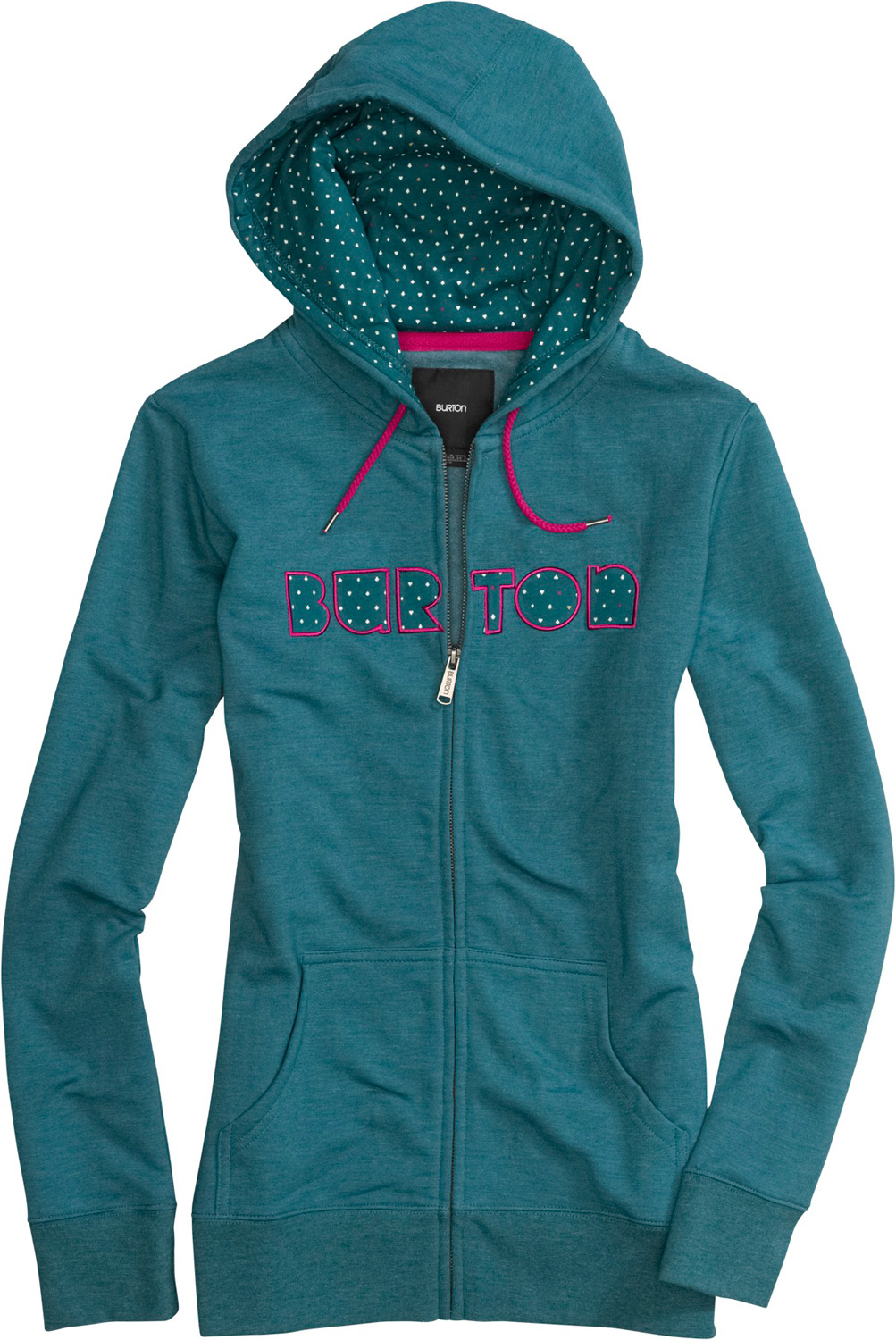 Snowboard Key Features of the Burton Gravity Fullzip Hoodie: 85% Cotton, 12% Polyester, 3% Spandex Custom Printed Artwork on Hood Lining and Front Applique Regular Fit - $65.00