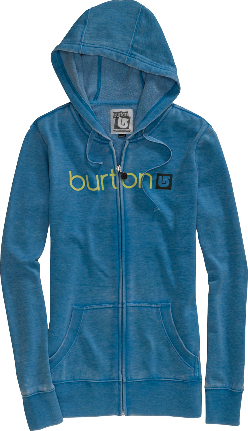 Snowboard Key Features of the Burton Her Logo Basic Hoodie: 60% Cotton/40% Polyester Burnout Fleece w/Burton Her Logo Word Mark Signature Fit XS-XL - $37.95