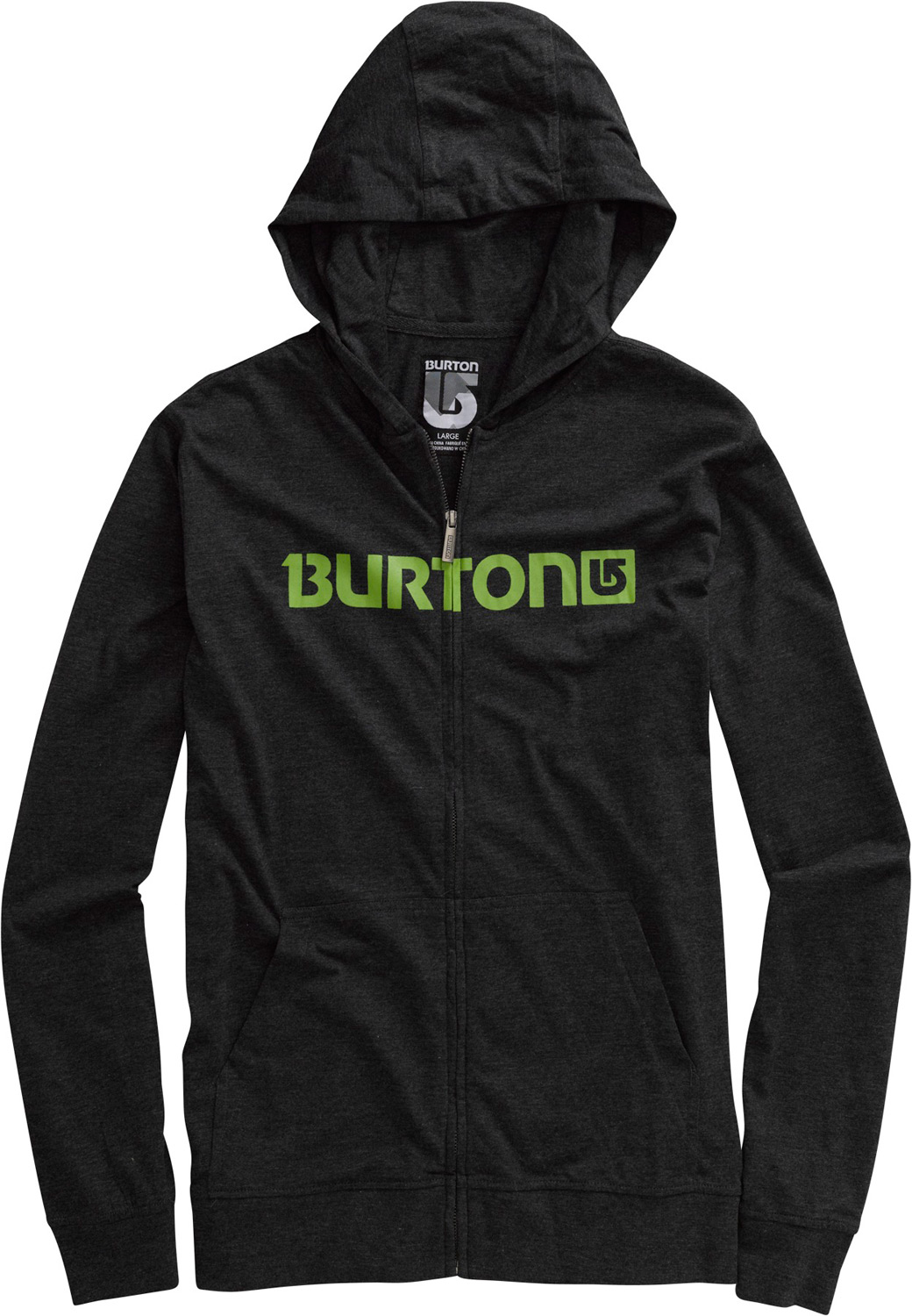 Snowboard Key Features of the Burton Maxwell Jersey Fullzip Hoodie: 60% cotton, 40% polyester, 160g heathered jersey Logo horizontal screen print across chest Sig fit - $33.56