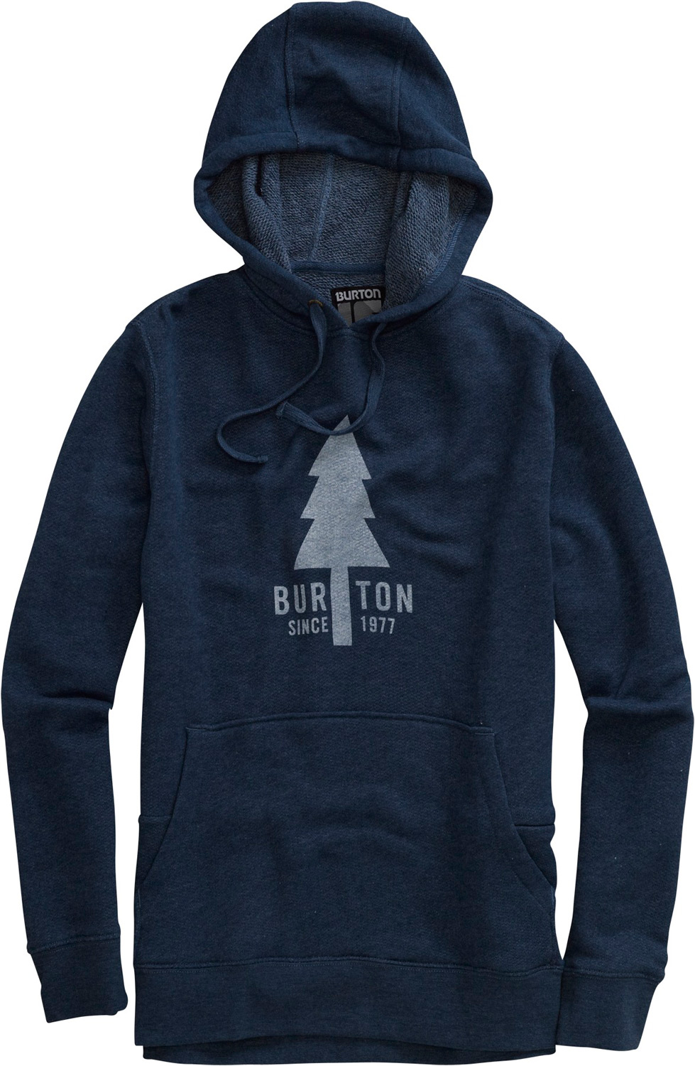 Snowboard Key Features of the Burton Old Faithful Pullover Hoodie: 80% Cotton/20% Polyester Custom Zipper Pull and Eyelids Sig Fit - $42.95