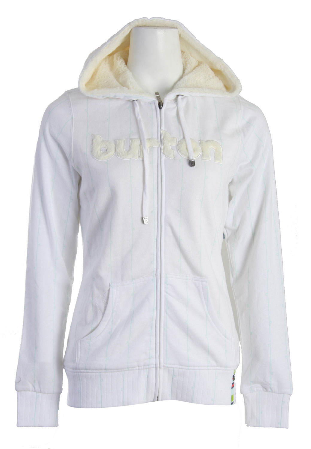Snowboard The Burton Premier Full Zip Hoodie. 80% Cotton, 20% Polyester Brushed Fleece - $40.95