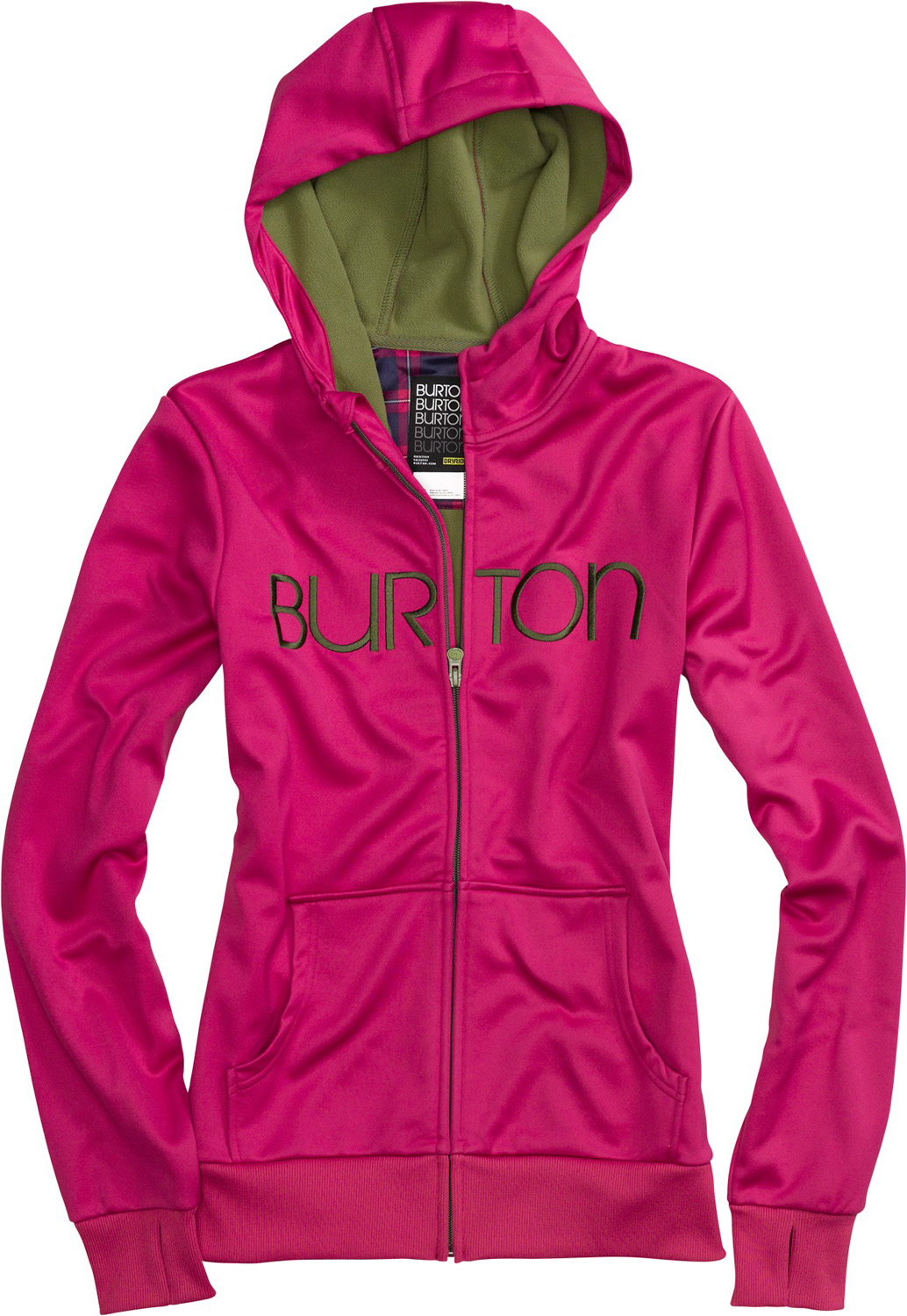 Snowboard Four scoops of fleece with all the sweet toppings-quick-drying heat for mountain or street.Key Features of the Burton Scoop Hoodie: DRYRIDE Thermex™ Bonded Fleece Fulltime Hood Kangaroo Handwarmer Pockets Sound Pocket with Headphone Cable Port Ribbed Thumbhole Cuffs and Hem - $79.95