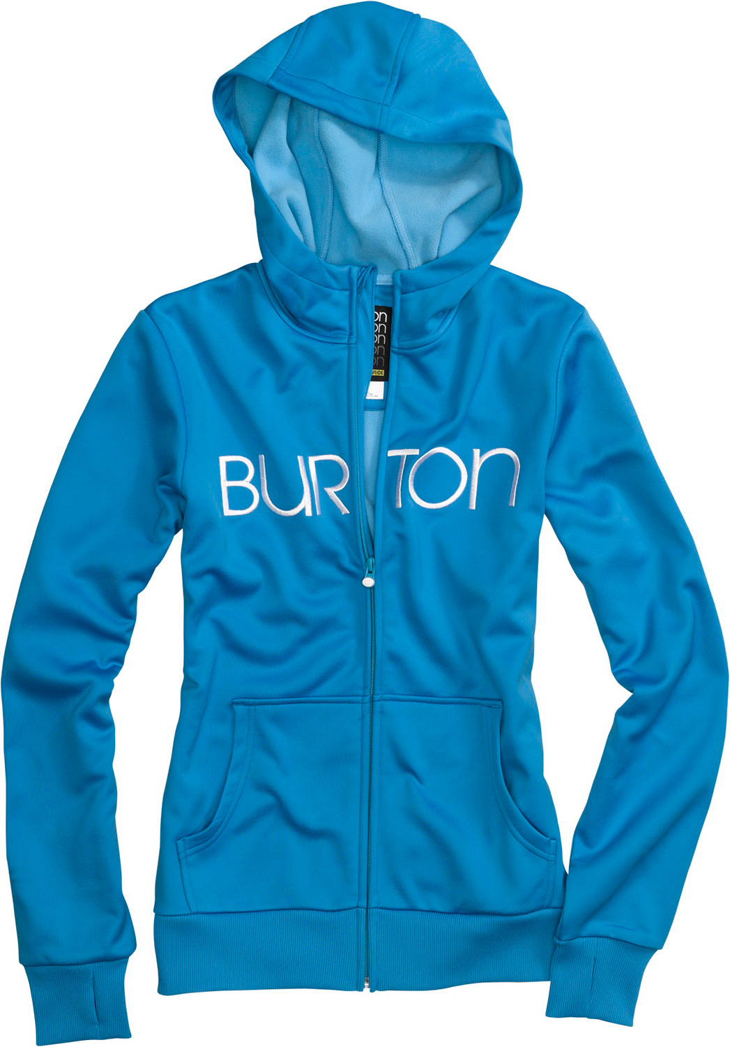 Snowboard Four scoops of fleece with all the sweet toppings-quick-drying heat for mountain or street.Key Features of the Burton Scoop Hoodie: DRYRIDE Thermex Bonded Fleece Fulltime Hood Kangaroo Handwarmer Pockets Sound Pocket with Headphone Cable Port Ribbed Thumbhole Cuffs and Hem - $79.95