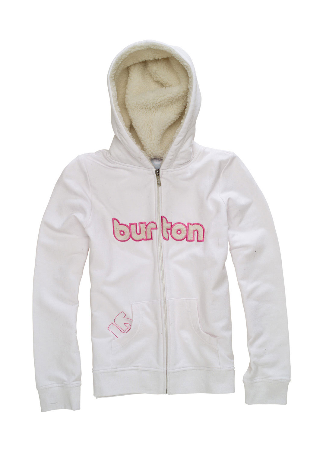 Snowboard The Burton Shred Girls Hoodie is a great layering piece! It comes in comfortable 100% cotton twill fleece in a design that won't go out of style soon!Key Features of the Burton Shred Hoodie Bright White: 100% Cotton Twill Fleece - $28.95