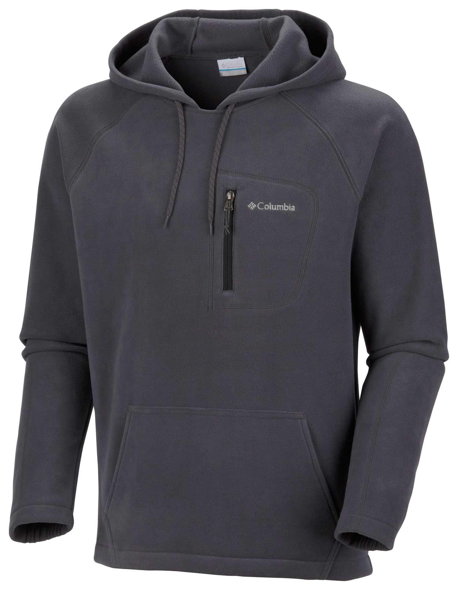 Key Features of the Columbia Fast Trek Hoodies: FABRIC 100% polyester micro?eece 250g. FIT Modern Classic Zip-closed security pocket - $35.95