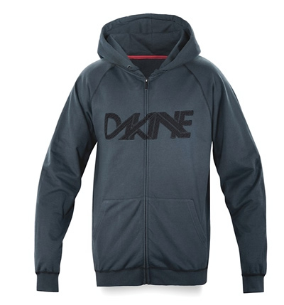 Surf Key Features of the Dakine Linked Hoodie: 100% cotton fleece (280gm) Cotton jersey lined hood Full Zip - $38.95