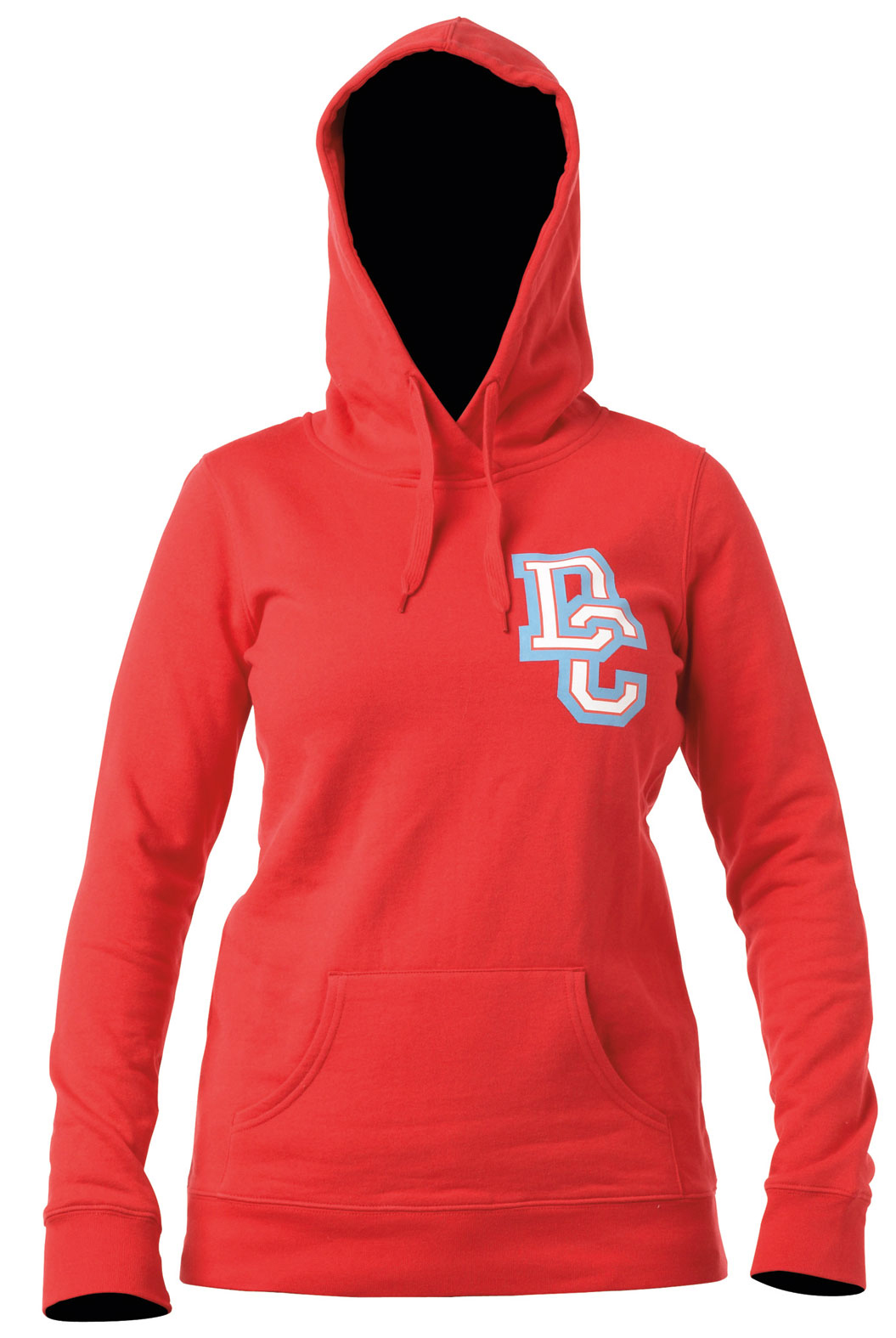Skateboard Long fleece pullover hood with athletic dc logo print on body.Key Features of the DC Bachelorette Hoodie: Fit: long ph 80%cotton / 20% polyester 280g fleece - $33.95