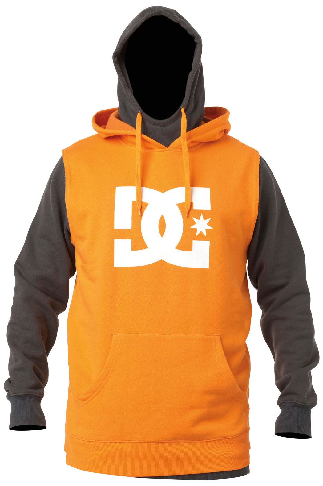 Skateboard Water repellent fleece with double layered hood and body, thumb hole cuffs, screen print logo, rib thumb hole cuffs, and media pocket.Key Features of the DC Dryden Hoodie: Fit: long fzh 60/40 cotton polyester 340g fleece - $85.00