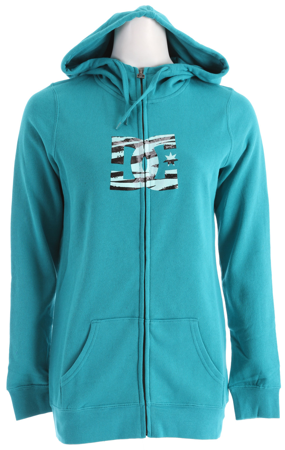 Skateboard Stay warm when the cold hits and the snow flies with this great, long-fit, fully front zippered DC Snow Fill FZ Hoodie for women. Made of a warm and cozy 80% cotton, 20% polyester blend, you'll keep the cold out while you stay warm inside it, and the colder it is, the more you'll appreciate its midweight insulation. Wear the DC Snow Fill Hoodie as an outer jacket itself to school, around town, or anywhere you want to be warm. Even wear it under a shell for increased warmth and water resistance, either way, you'll be as toasty as you want to be.Key Features of the DC Snow FZ Hoodie:  Long fit fleece with full zip hood  80% cotton / 20% polyester - $32.95