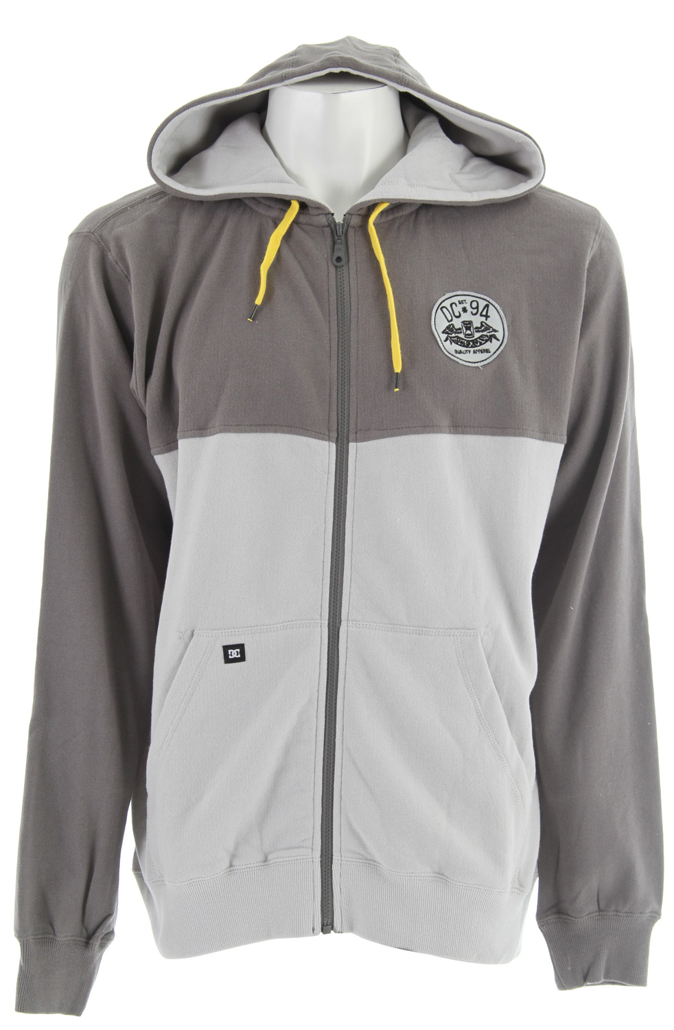 Skateboard Key Features of the DC Hutch Hoodie: Standard fit 80% cotton/20% polyester - $30.77