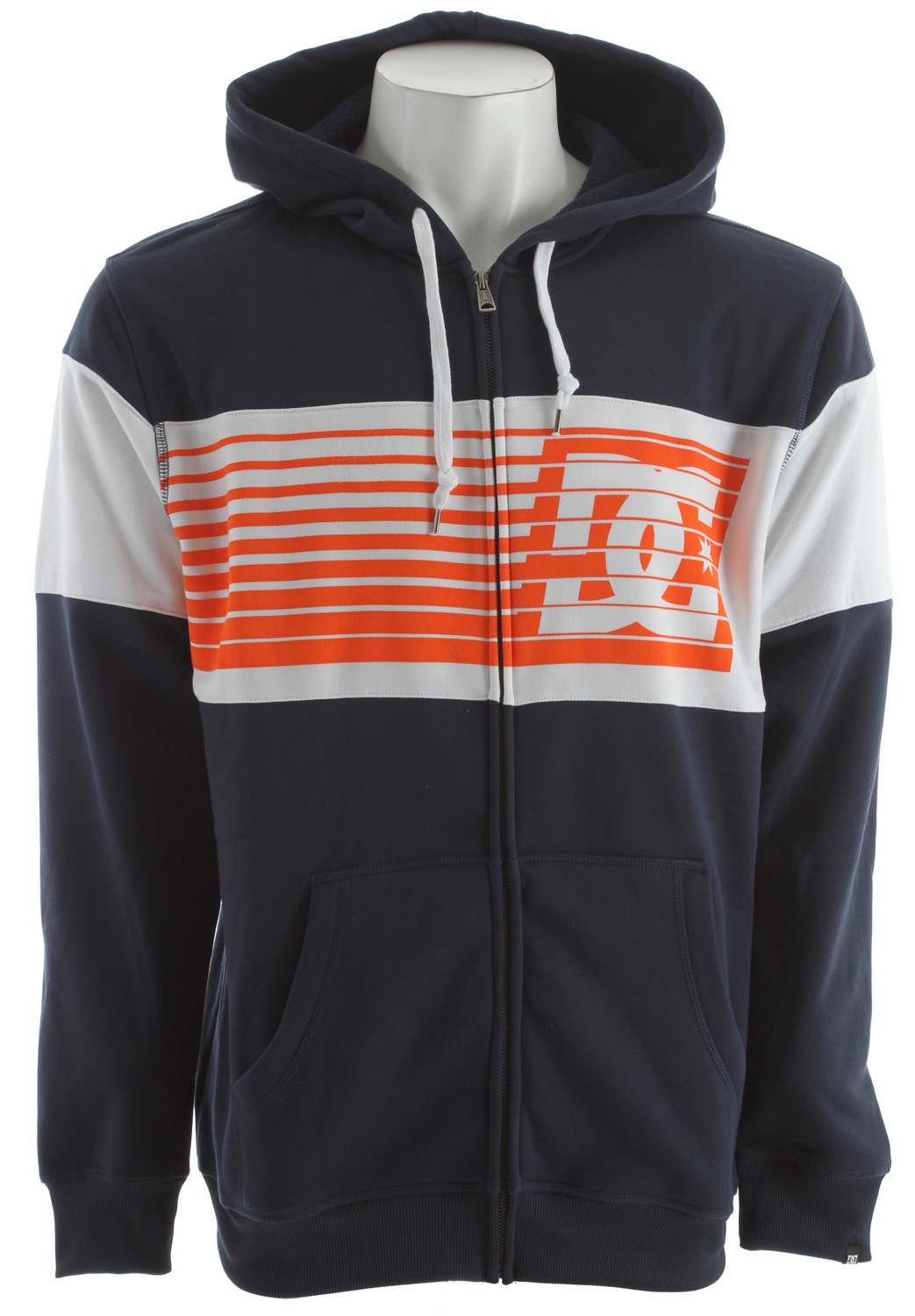 Skateboard Key Features of the DC Lyman Hoodie DC Navy: 100% polyester Water repellent fleece - $45.95